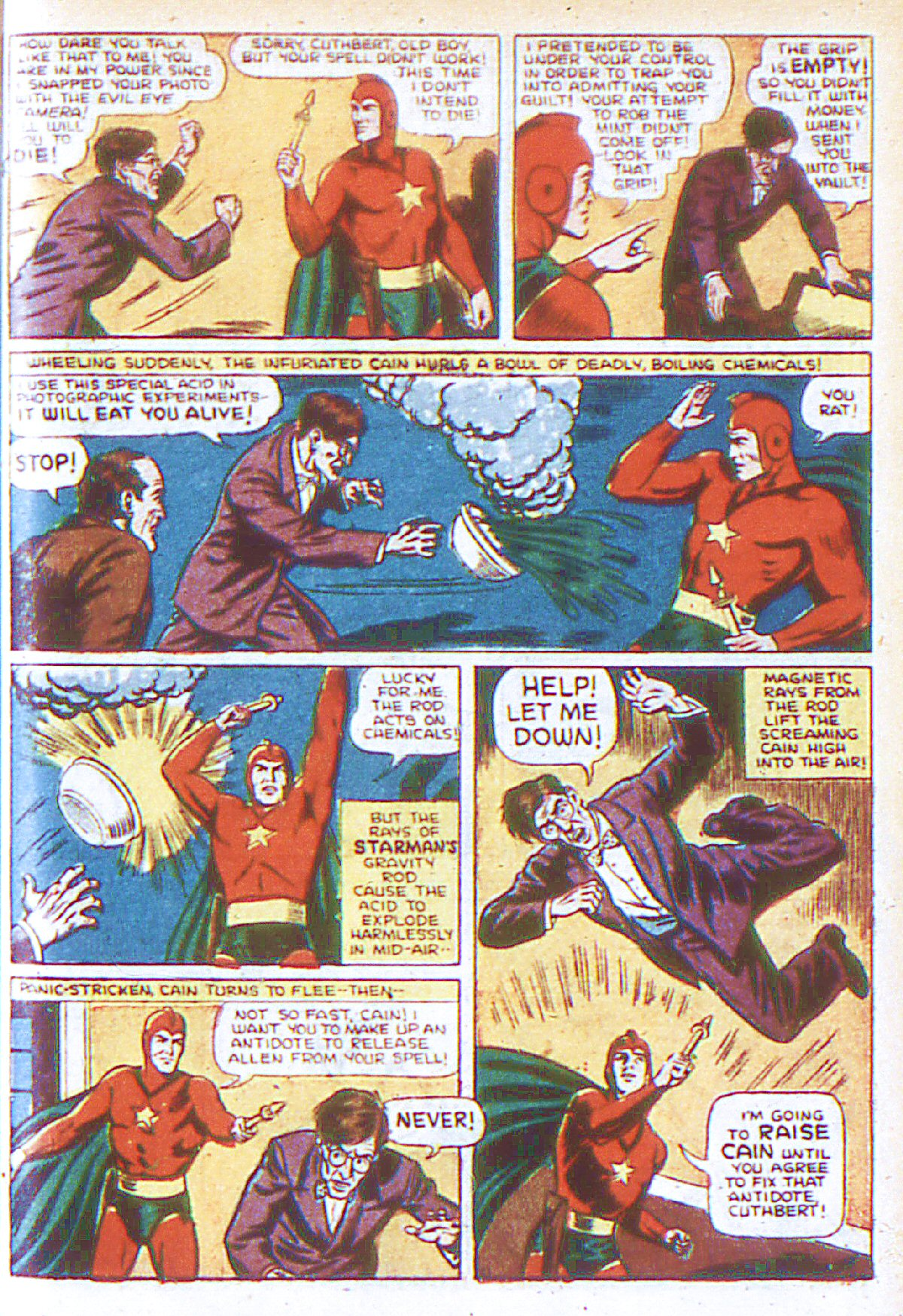 Read online Adventure Comics (1938) comic -  Issue #66 - 14