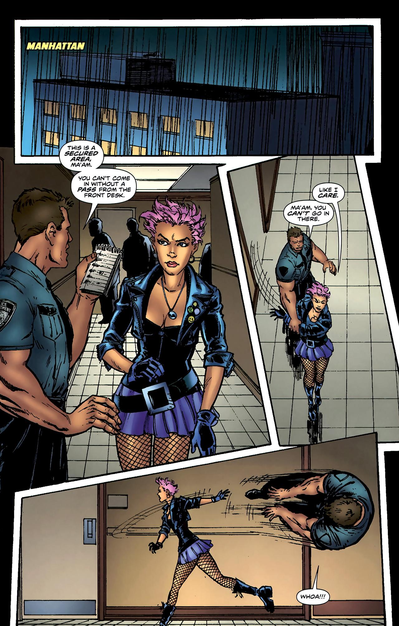 Read online ShadowHawk (2010) comic -  Issue #4 - 14