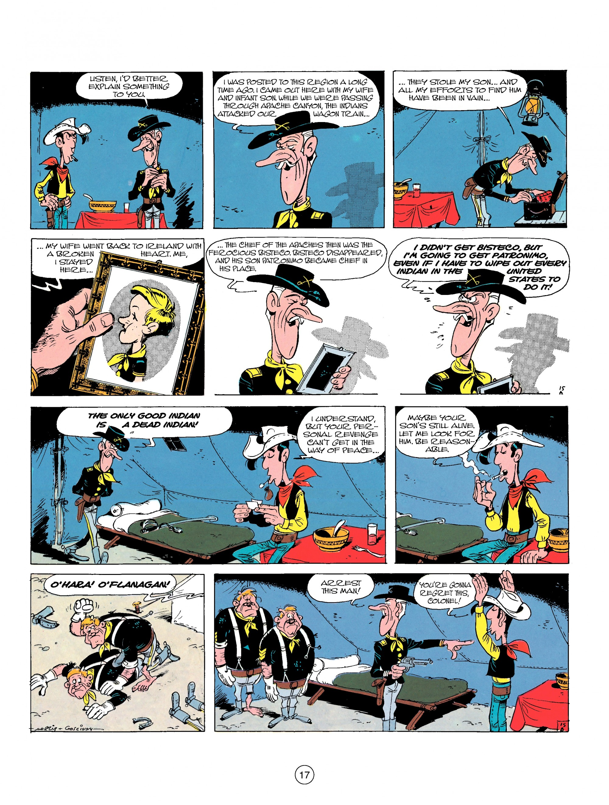 Read online A Lucky Luke Adventure comic -  Issue #17 - 17