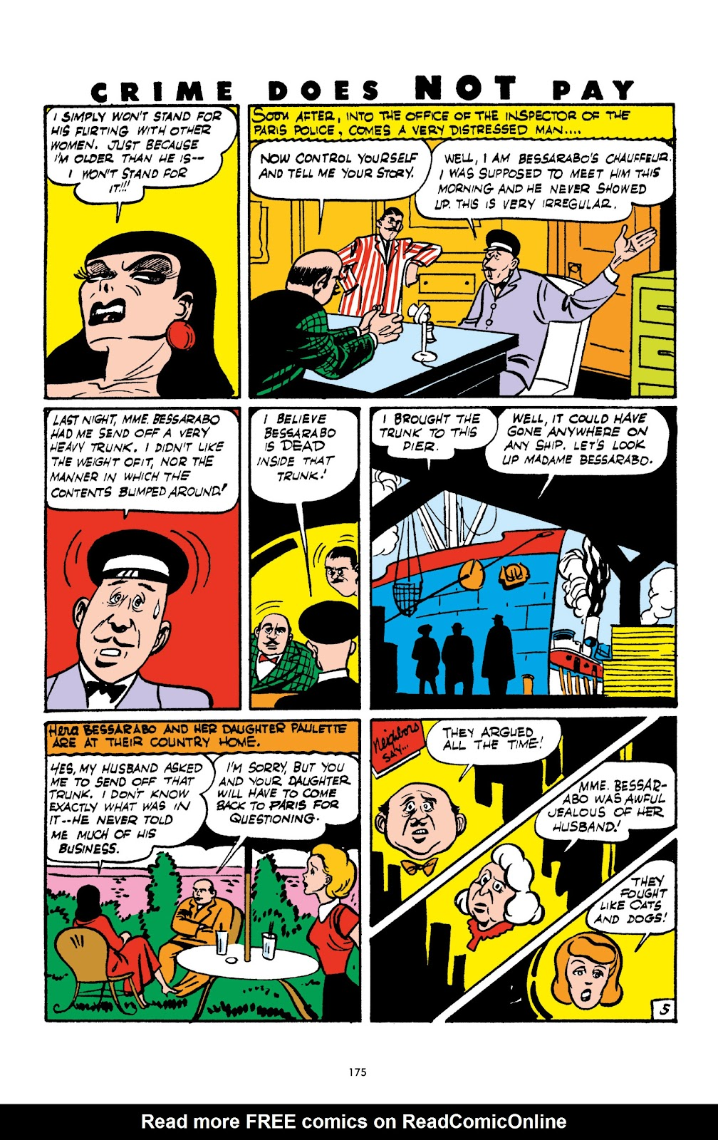 Read online Crime Does Not Pay Archives comic -  Issue # TPB 2 (Part 2) - 75