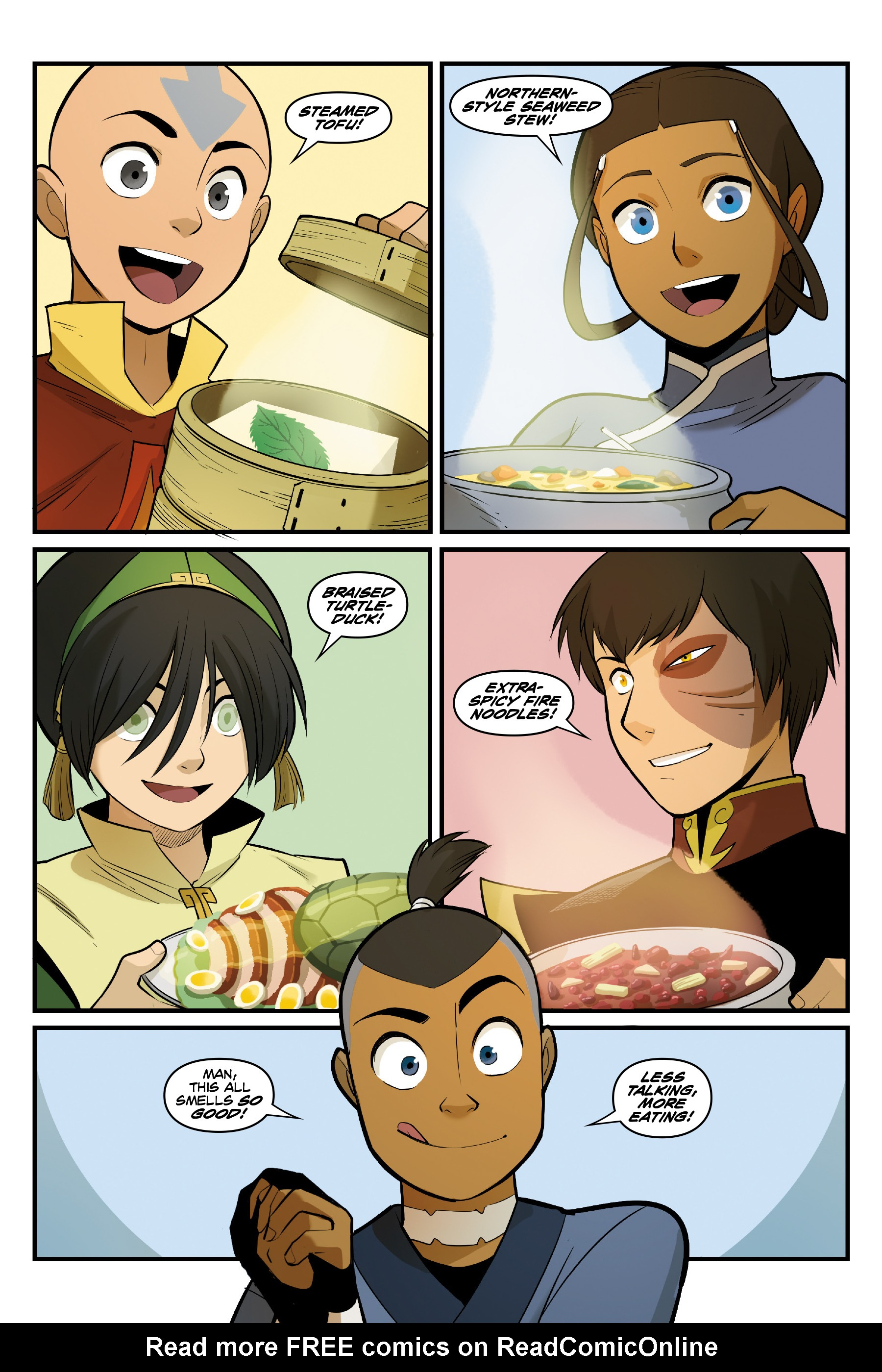 Read online Nickelodeon Avatar: The Last Airbender - North and South comic -  Issue #3 - 74