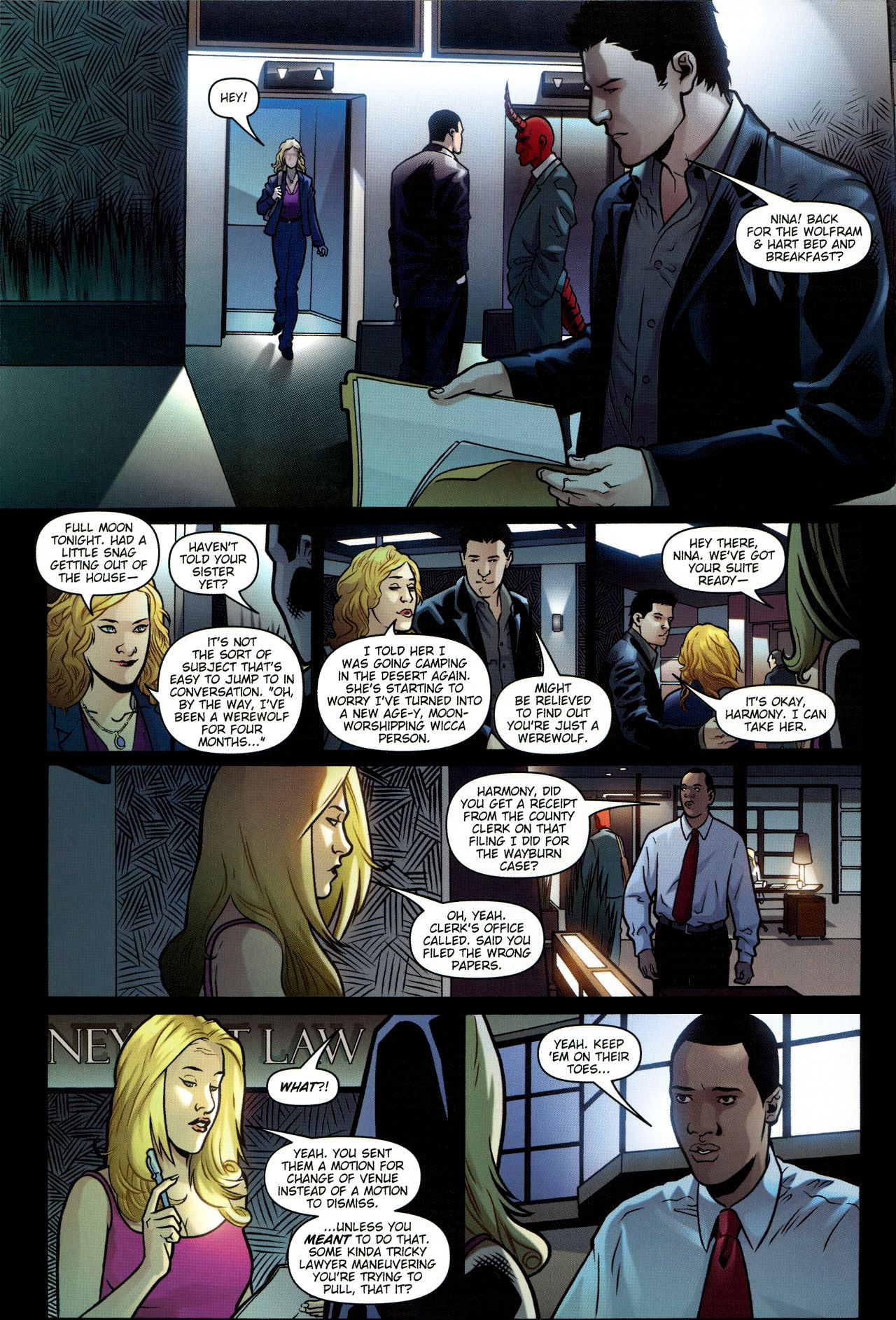 Read online Angel: Smile Time comic -  Issue #1 - 9