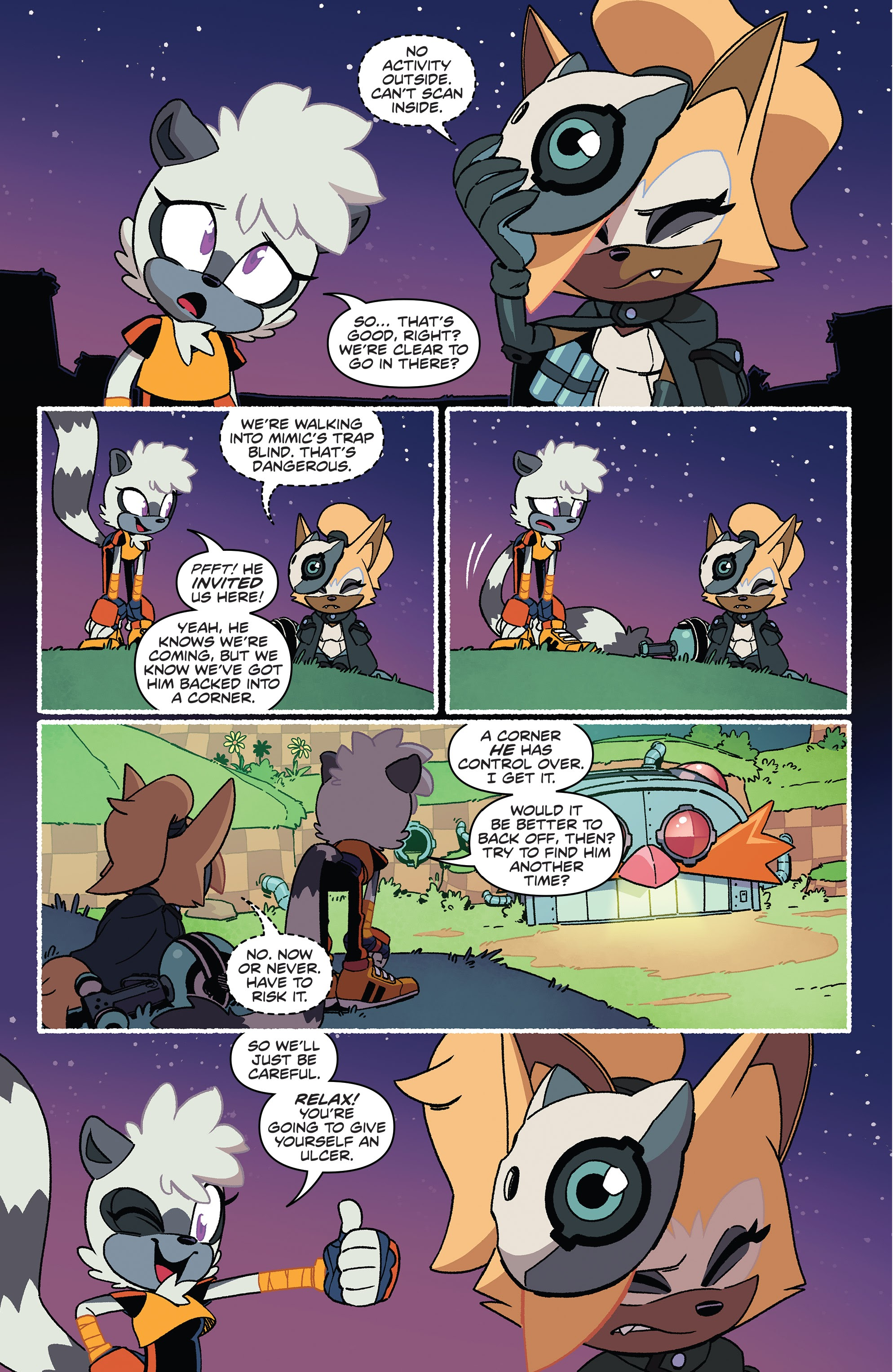 Sonic The Hedgehog Tangle Whisper 2 Read Sonic The Hedgehog Tangle Whisper Issue 2 Page 4