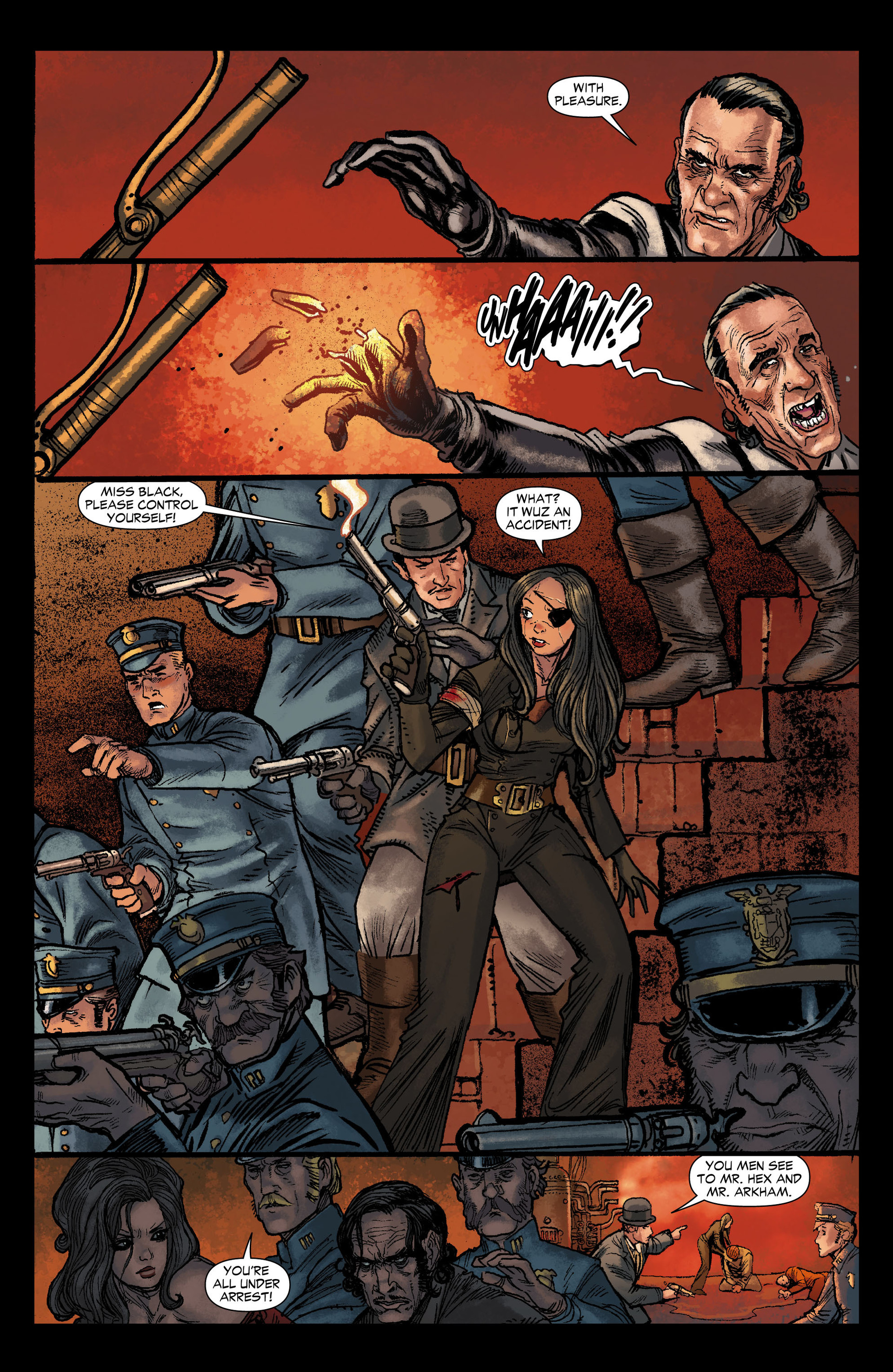 Read online All-Star Western (2011) comic -  Issue #12 - 15
