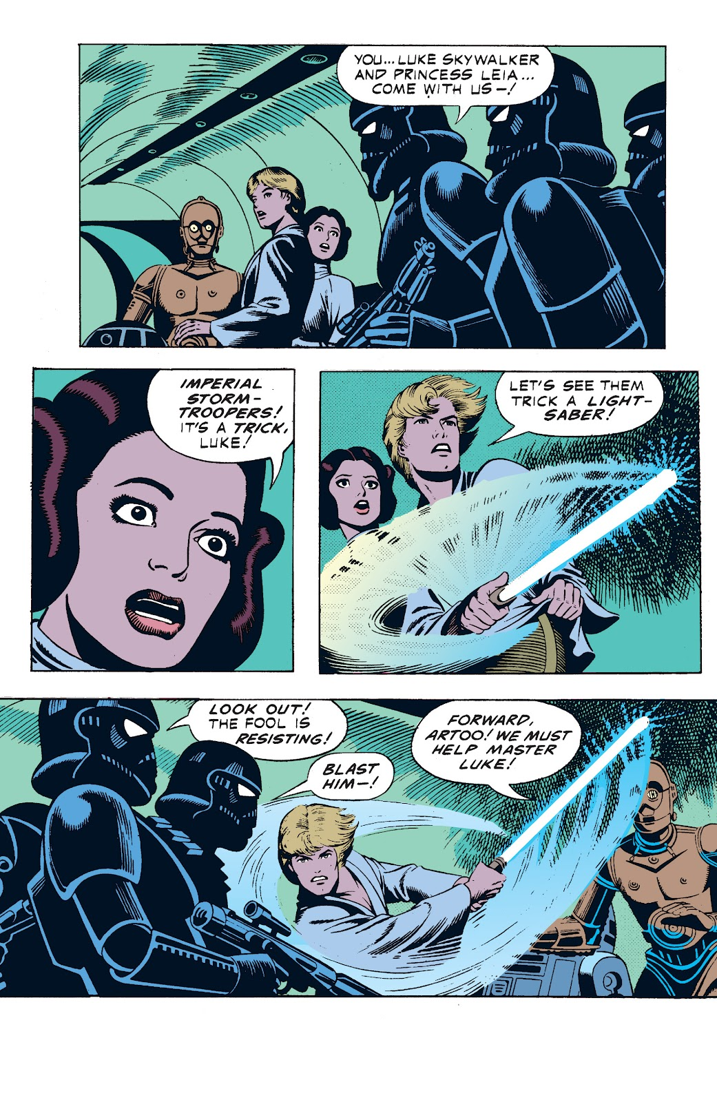 Read online Star Wars Legends: The Newspaper Strips - Epic Collection comic -  Issue # TPB (Part 1) - 50