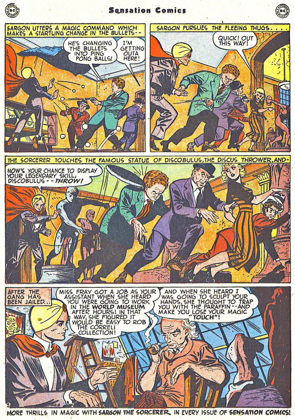 Read online Sensation (Mystery) Comics comic -  Issue #79 - 28