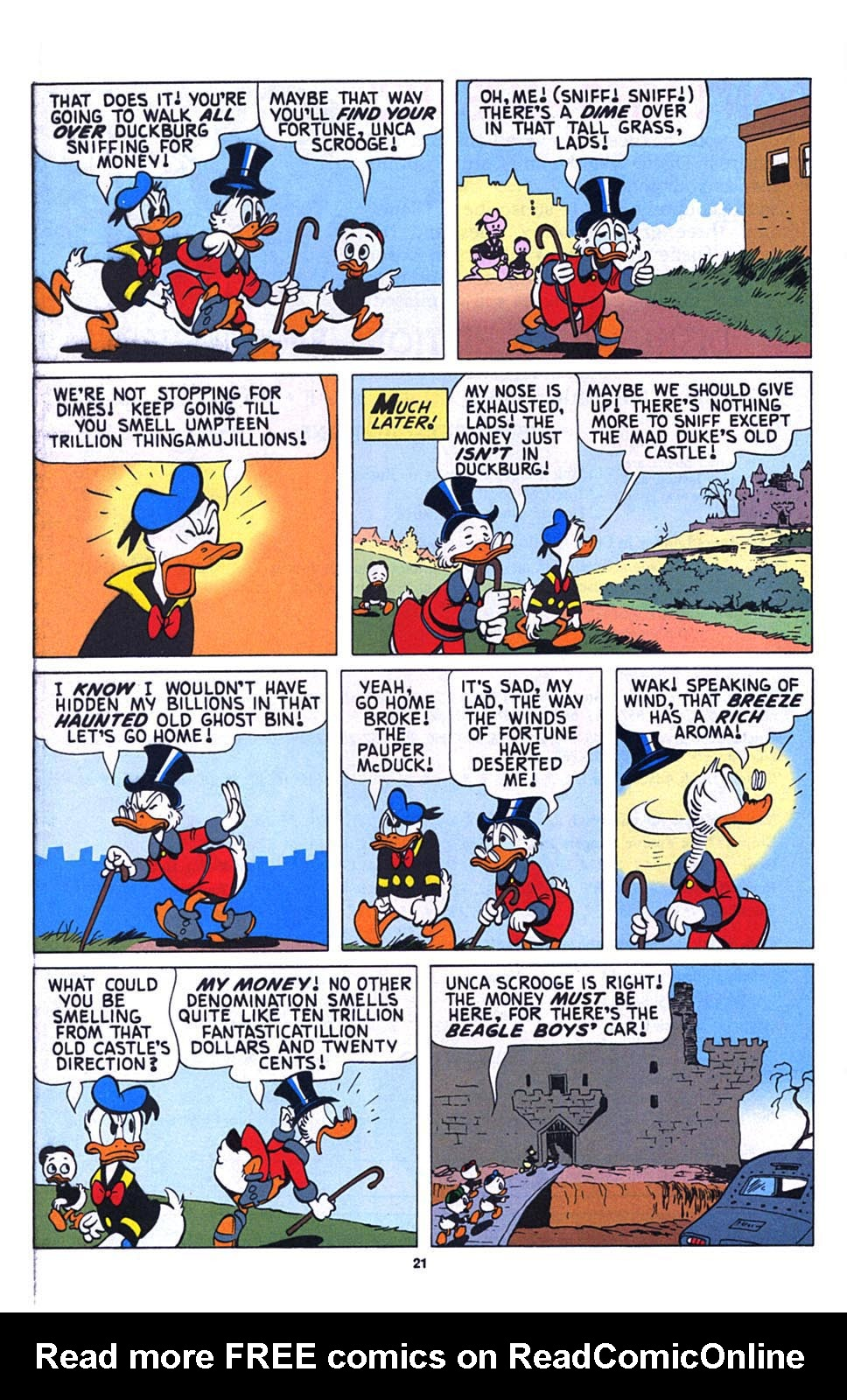Read online Uncle Scrooge (1953) comic -  Issue #273 - 22