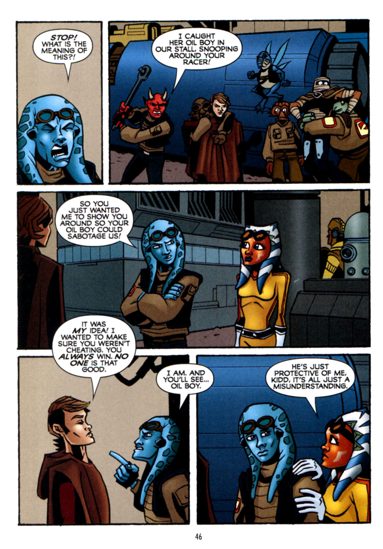 Read online Star Wars: The Clone Wars - Crash Course comic -  Issue # Full - 47