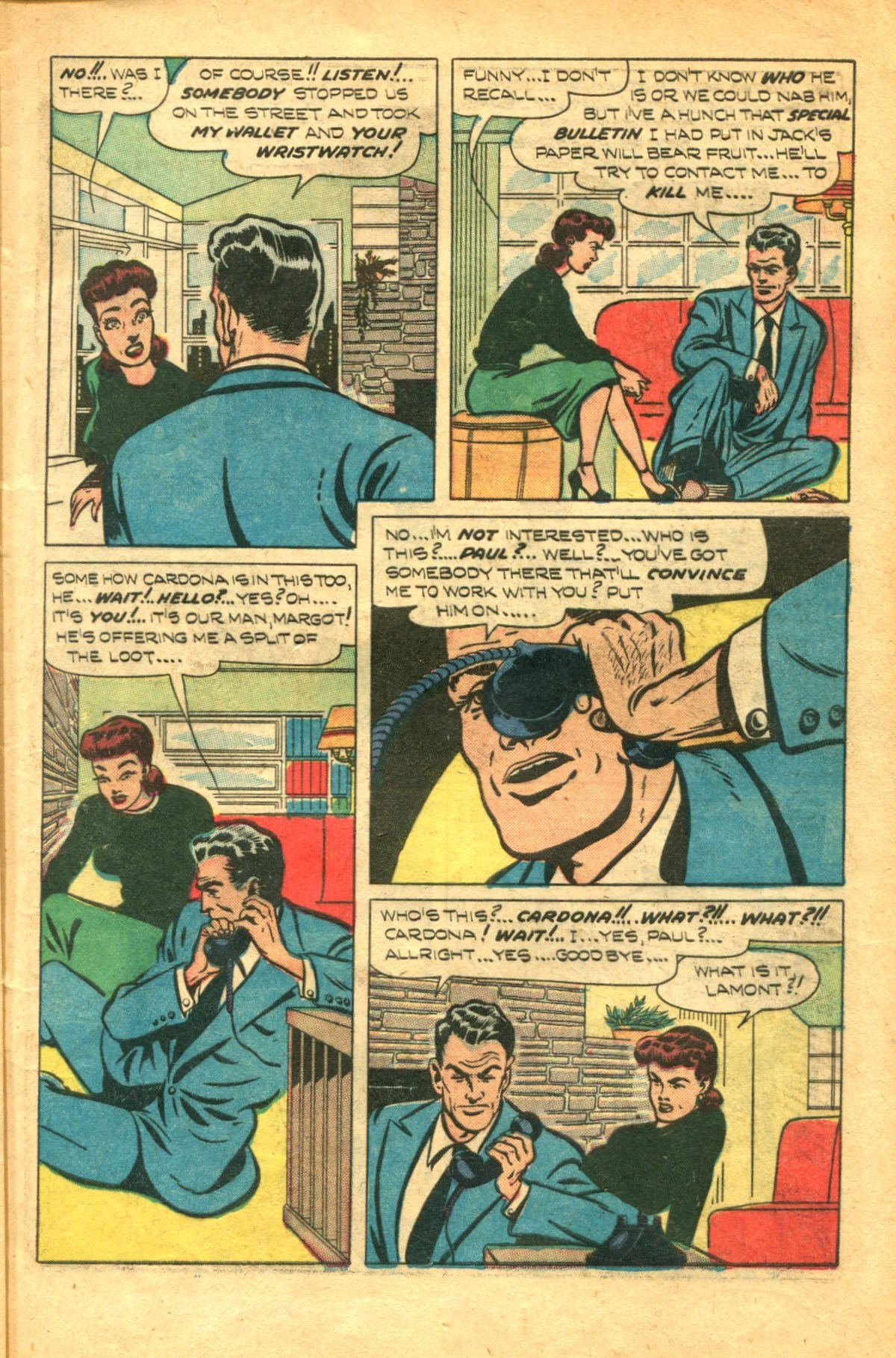 Read online Shadow Comics comic -  Issue #91 - 11