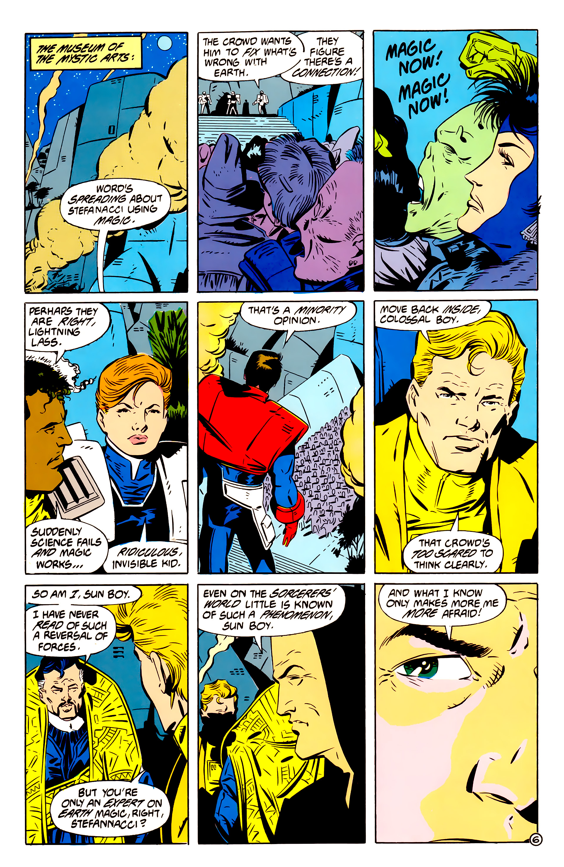Legion of Super-Heroes (1984) 61 Page 6