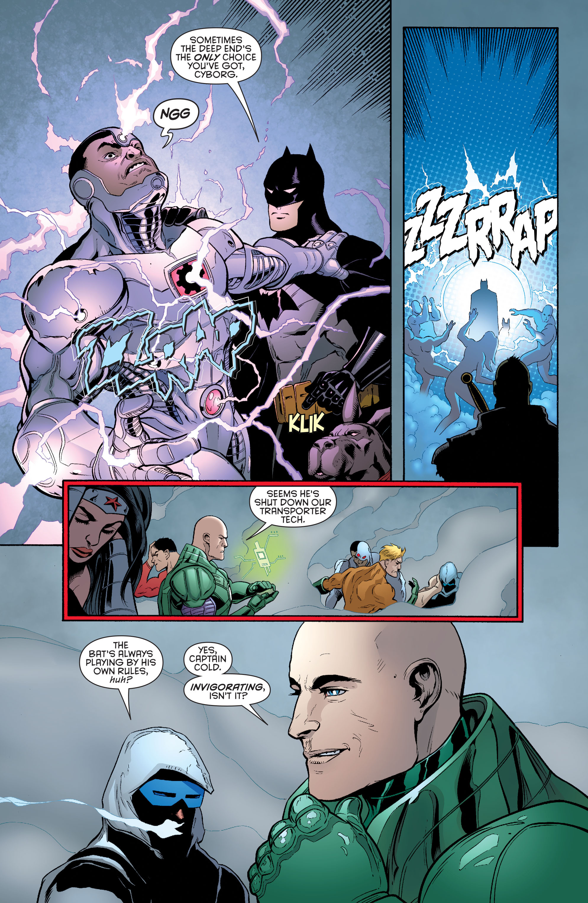 Read online Batman and Robin (2011) comic -  Issue #33 - 4
