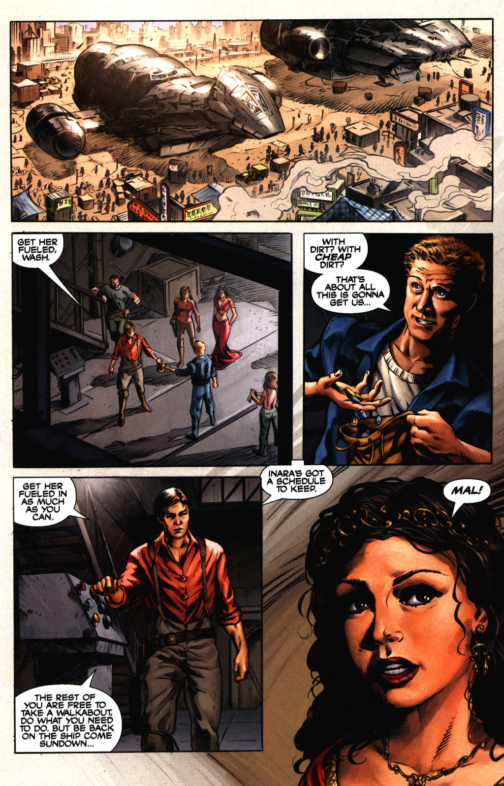 Read online Serenity comic -  Issue #2 - 8