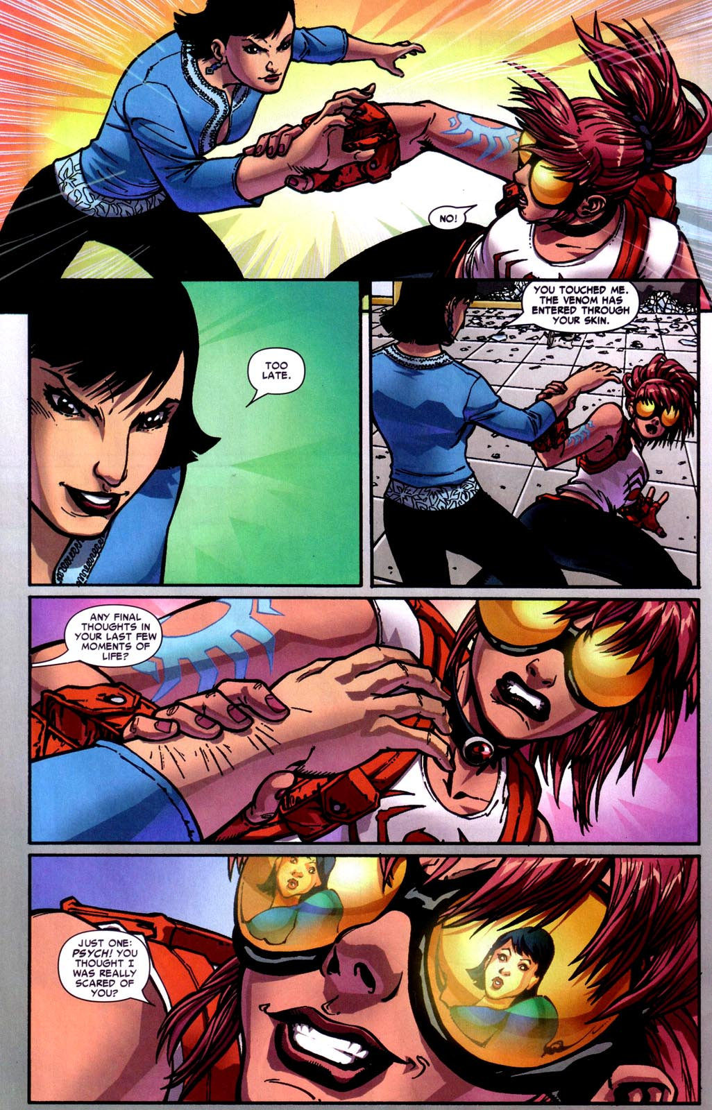 Read online Araña: Heart of the Spider comic -  Issue #7 - 21