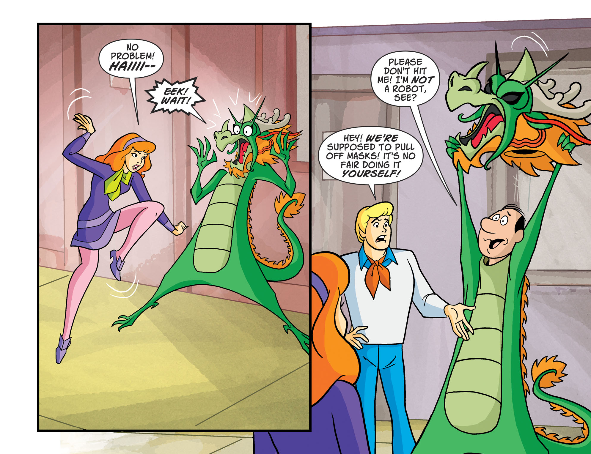 Read online Scooby-Doo! Team-Up comic -  Issue #52 - 17
