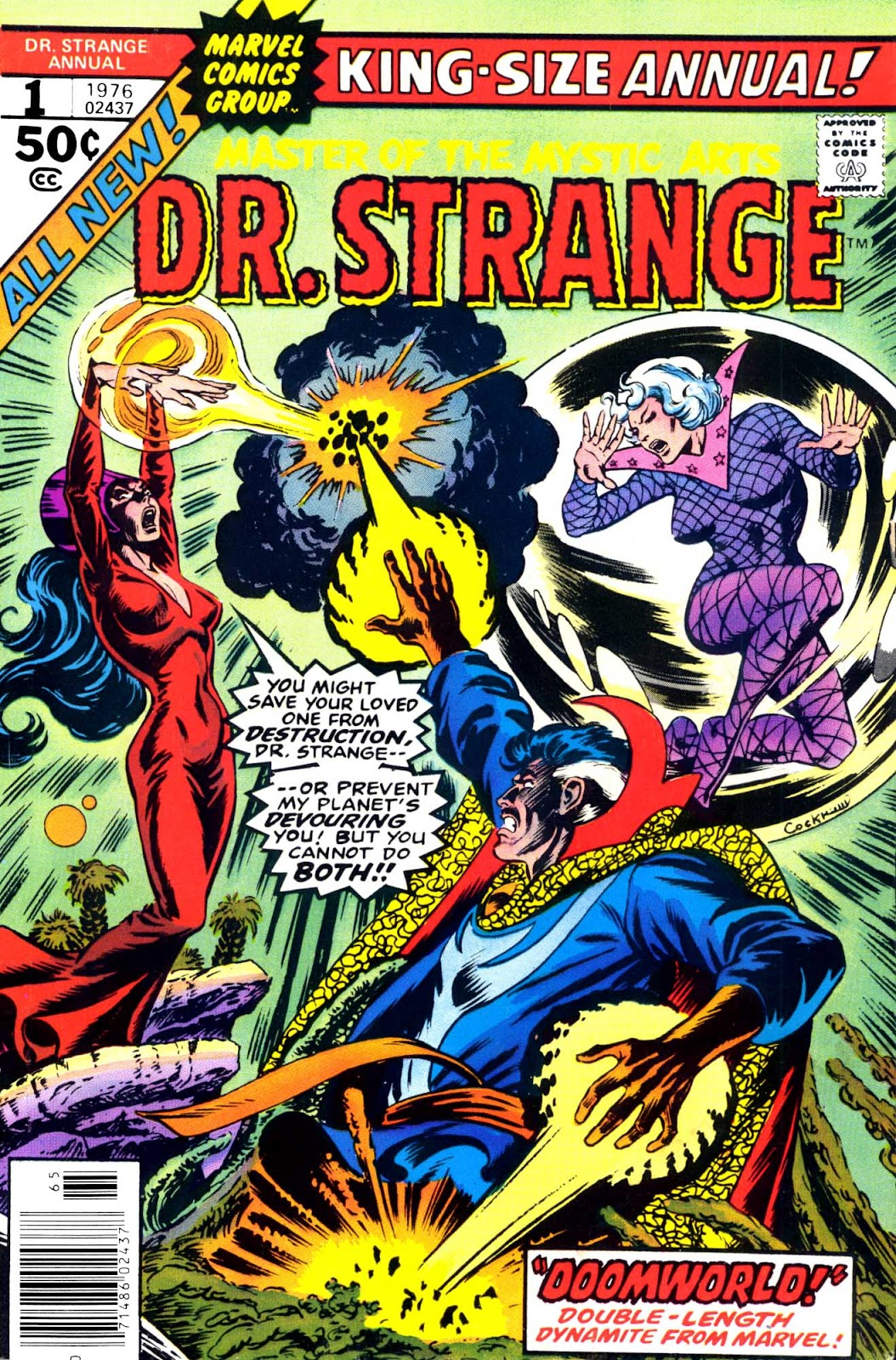Doctor Strange (1974) _Annual Page 1