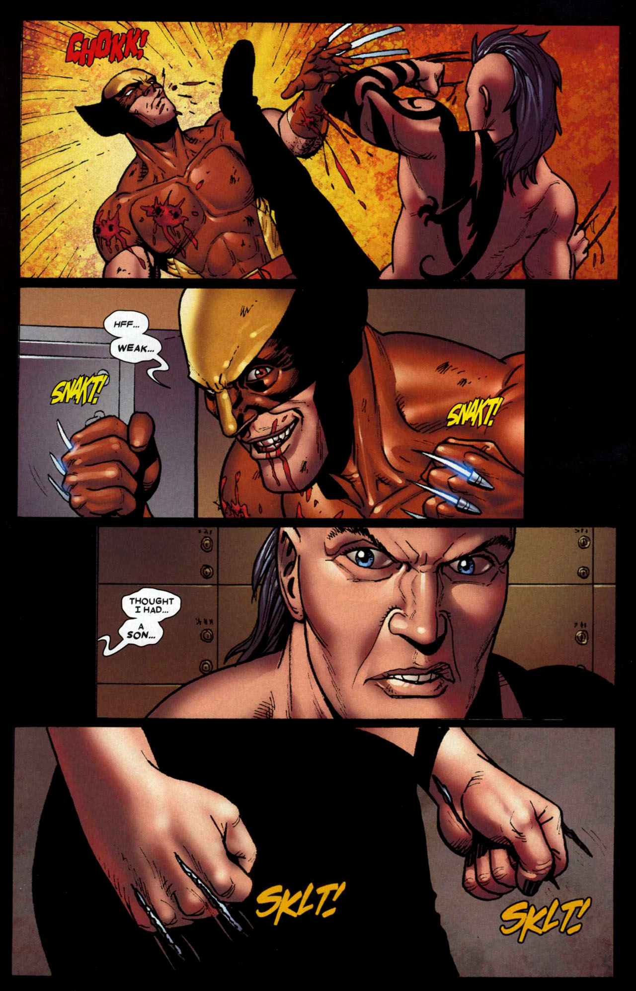 Read online Wolverine: Origins comic -  Issue #13 - 18