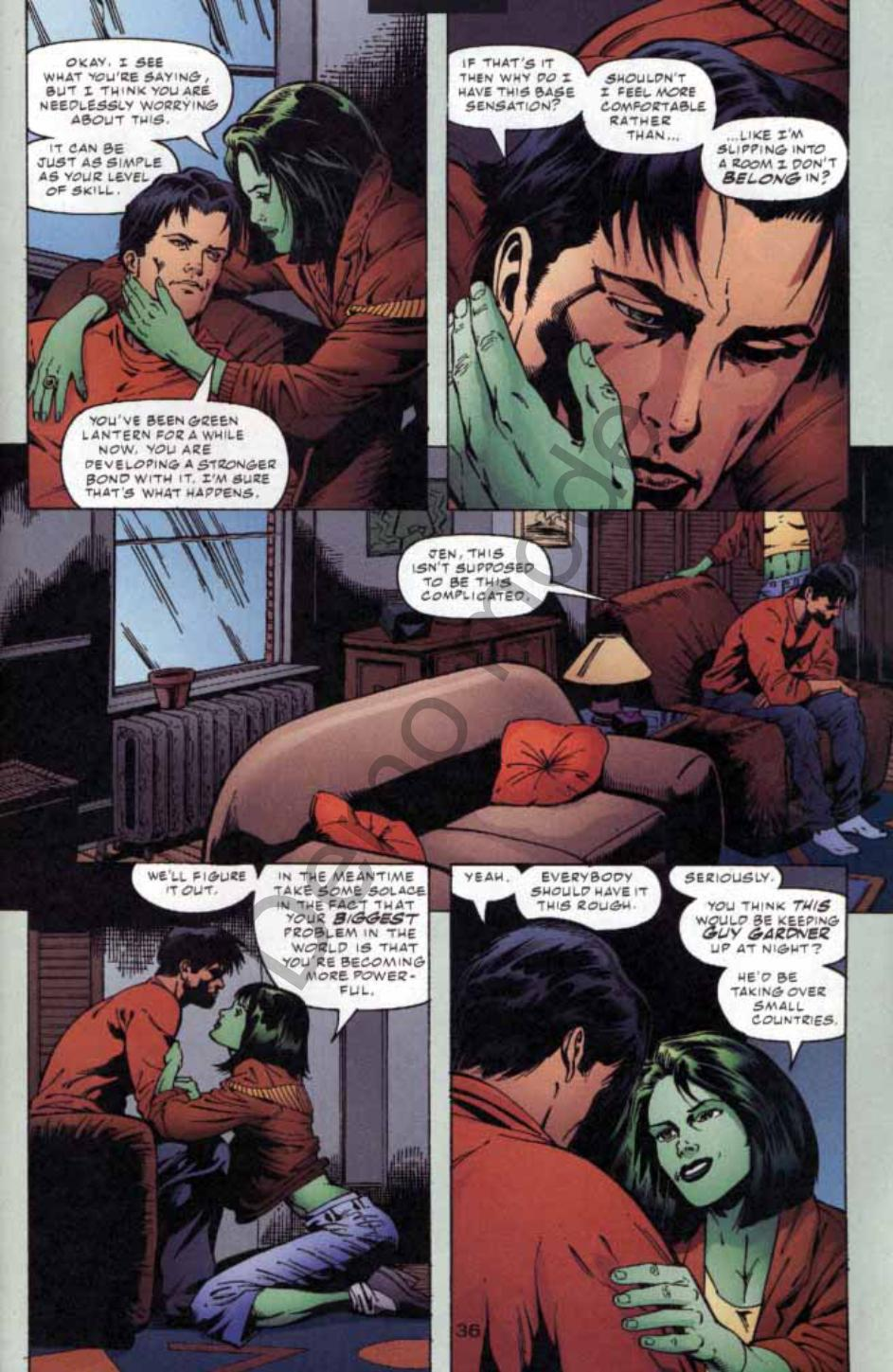 Read online Green Lantern: Our Worlds At War comic -  Issue # Full - 34
