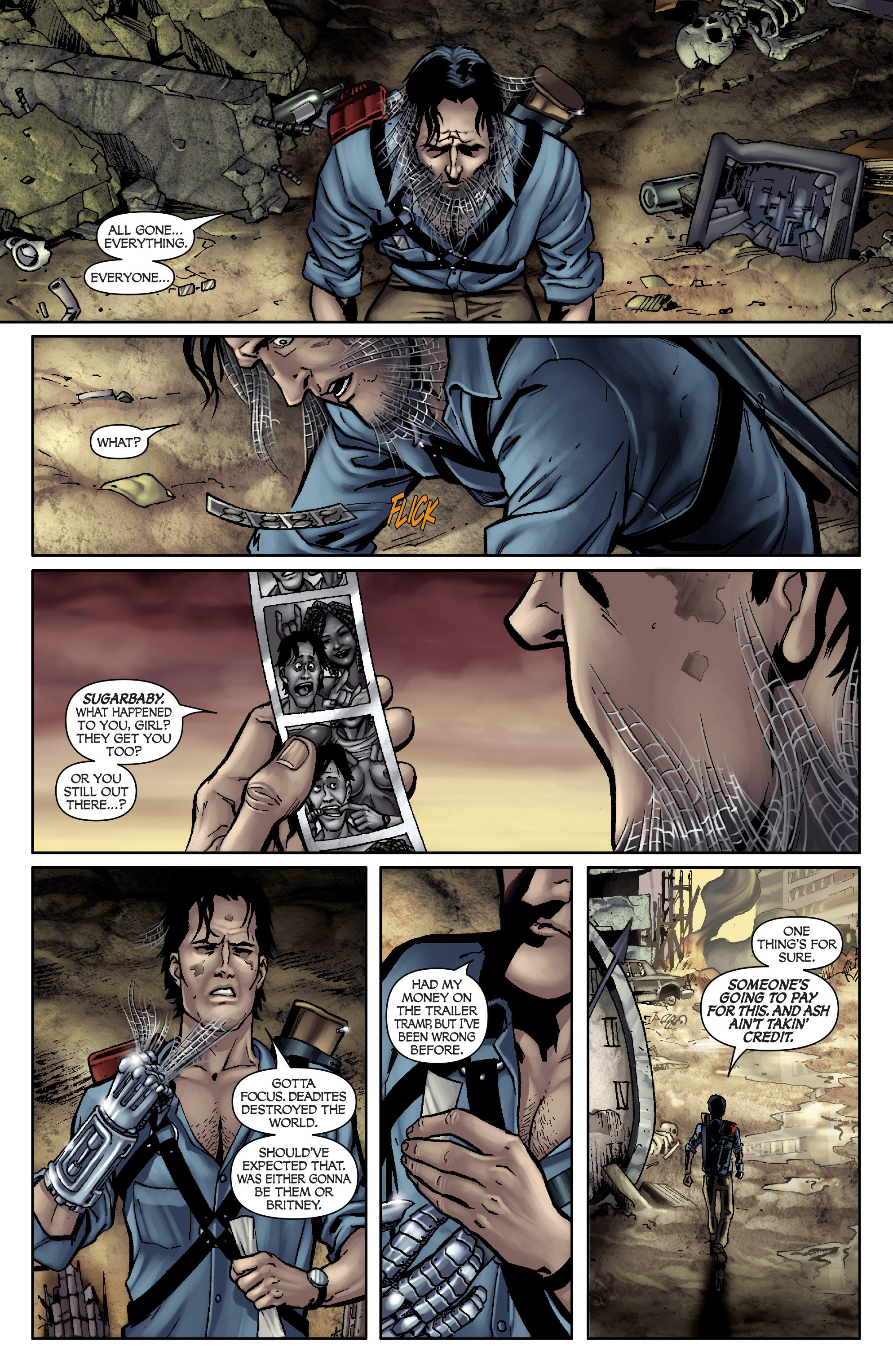 Read online Army of Darkness: From the Ashes comic -  Issue #Army of Darkness: From the Ashes TPB - 13