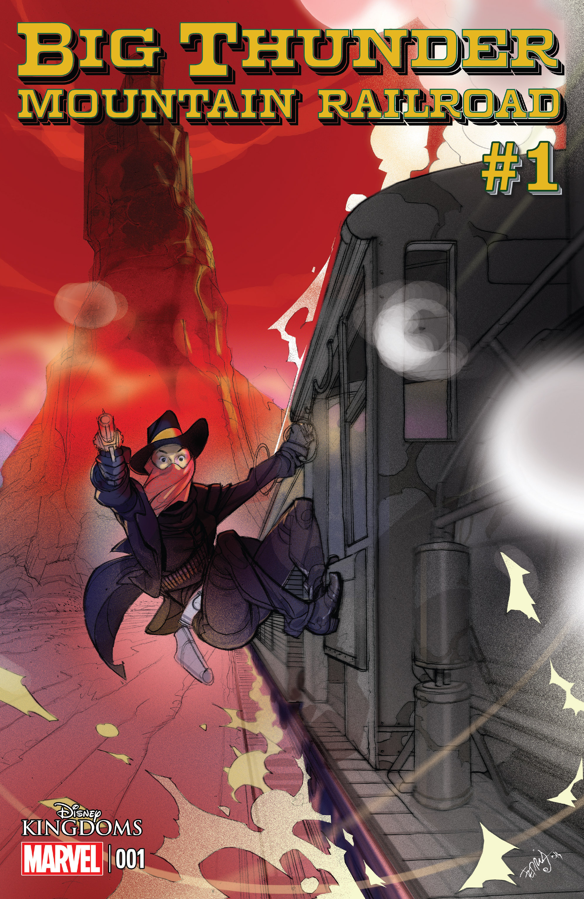 Read online Big Thunder Mountain Railroad comic -  Issue #1 - 1