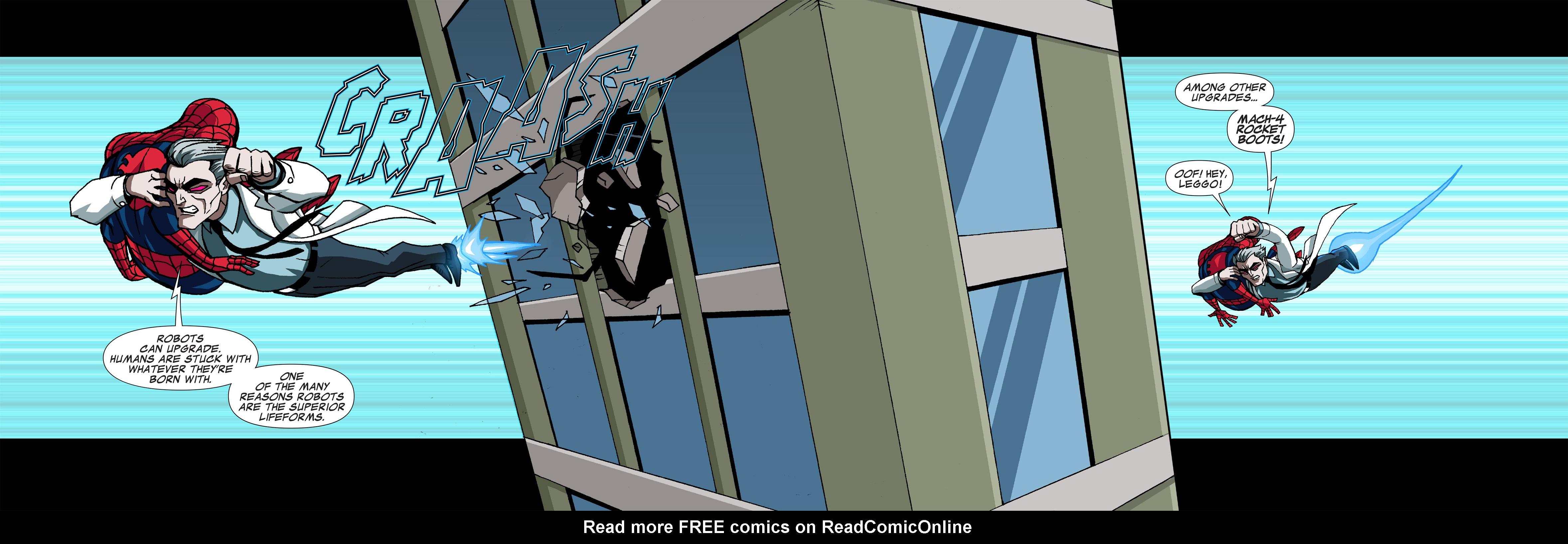 Read online Ultimate Spider-Man (Infinite Comics) (2015) comic -  Issue #5 - 27