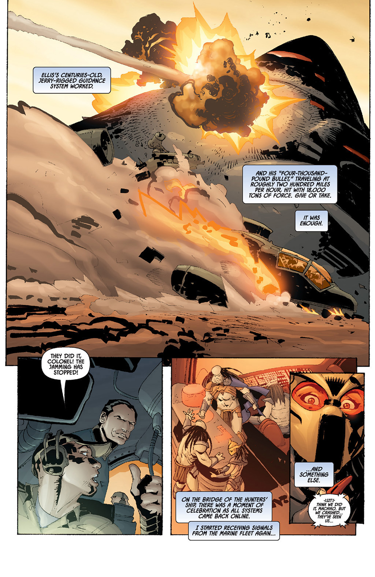 Read online Aliens vs. Predator: Three World War comic -  Issue #4 - 19