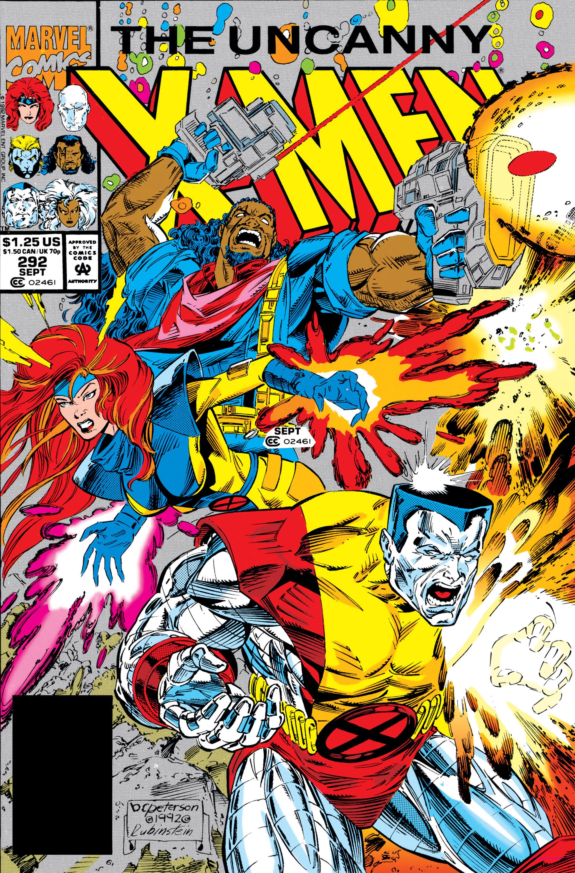 Read online Uncanny X-Men (1963) comic -  Issue #292 - 1