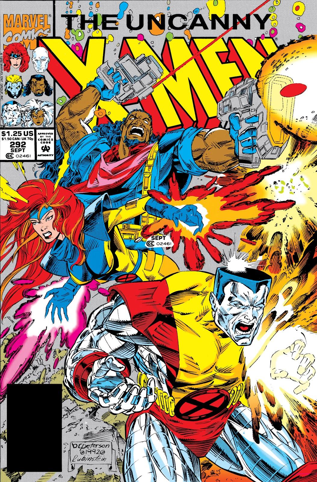 Uncanny X-Men (1963) issue 292 - Page 1