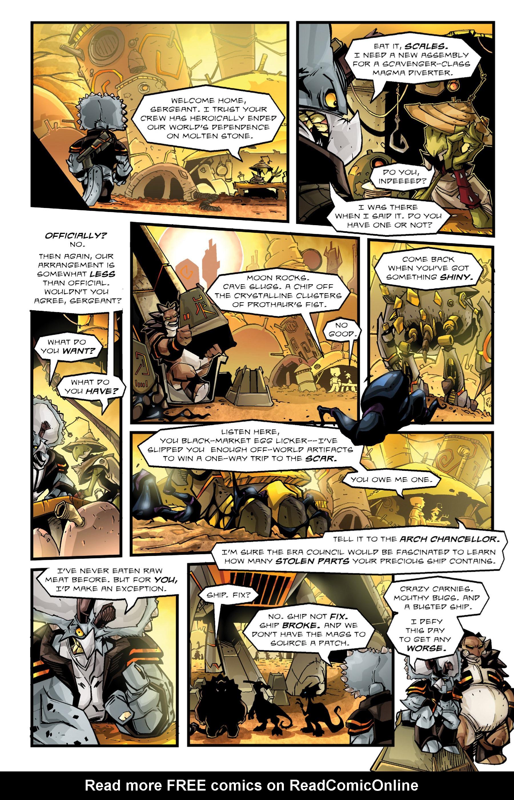 Read online Rexodus comic -  Issue # Full - 49