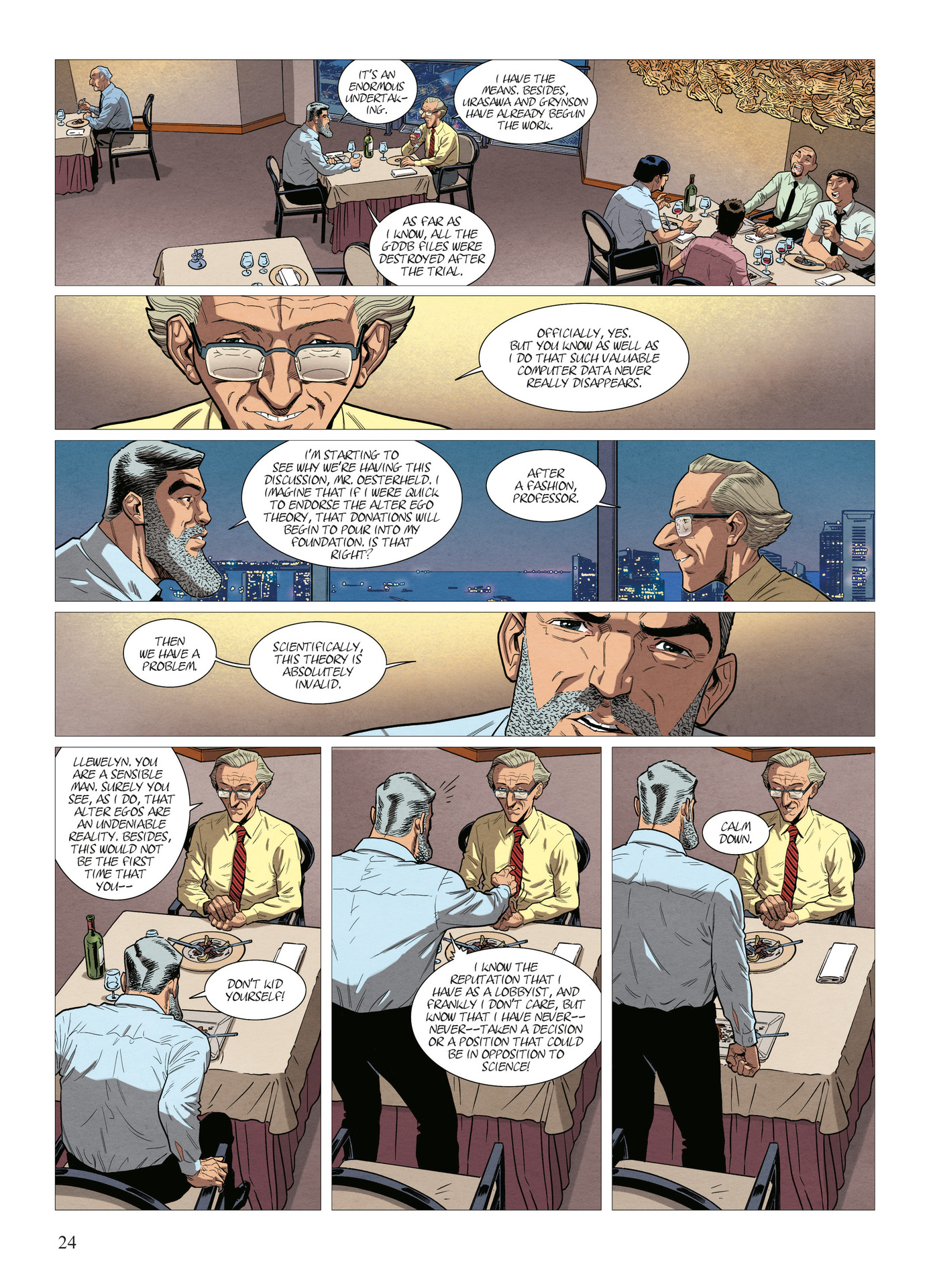 Read online Alter Ego comic -  Issue #10 - 25