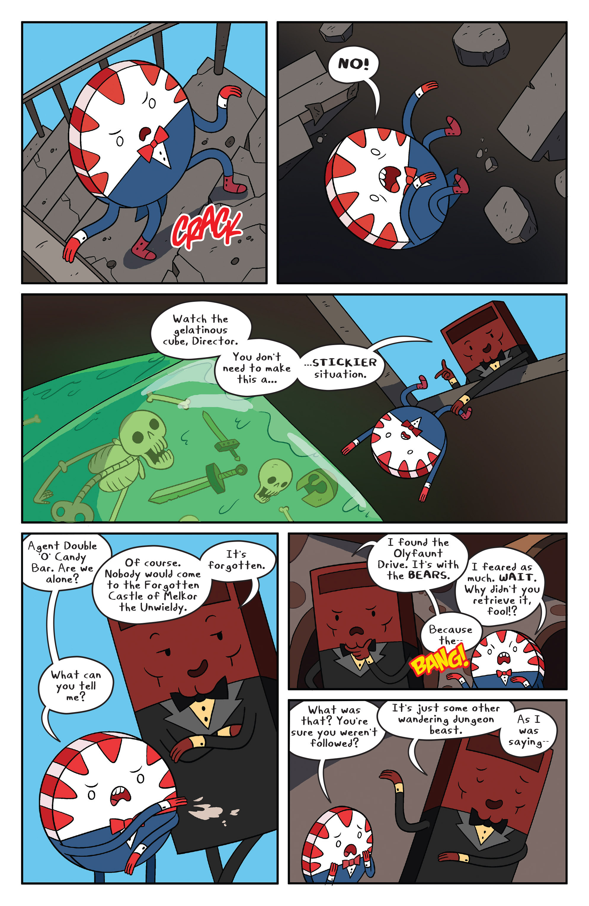 Read online Adventure Time comic -  Issue #41 - 7