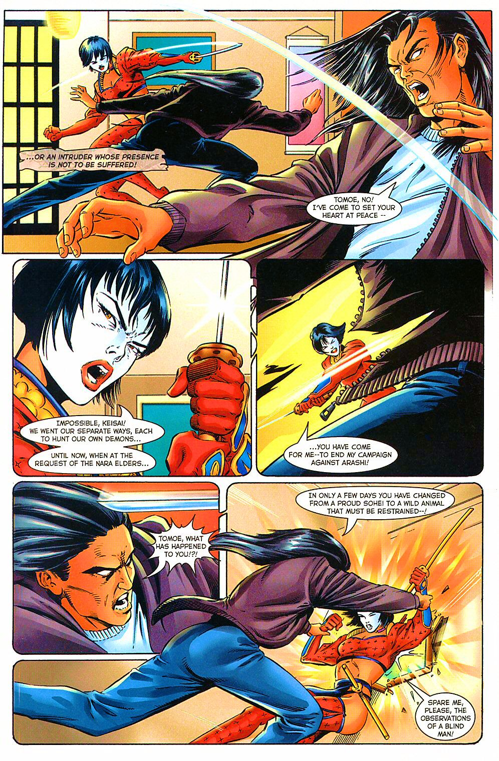 Read online Shi: The Way of the Warrior comic -  Issue #10 - 17