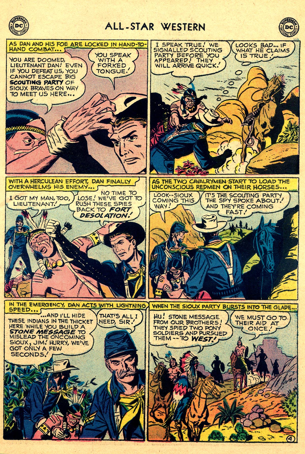 Read online All-Star Western (1951) comic -  Issue #93 - 23