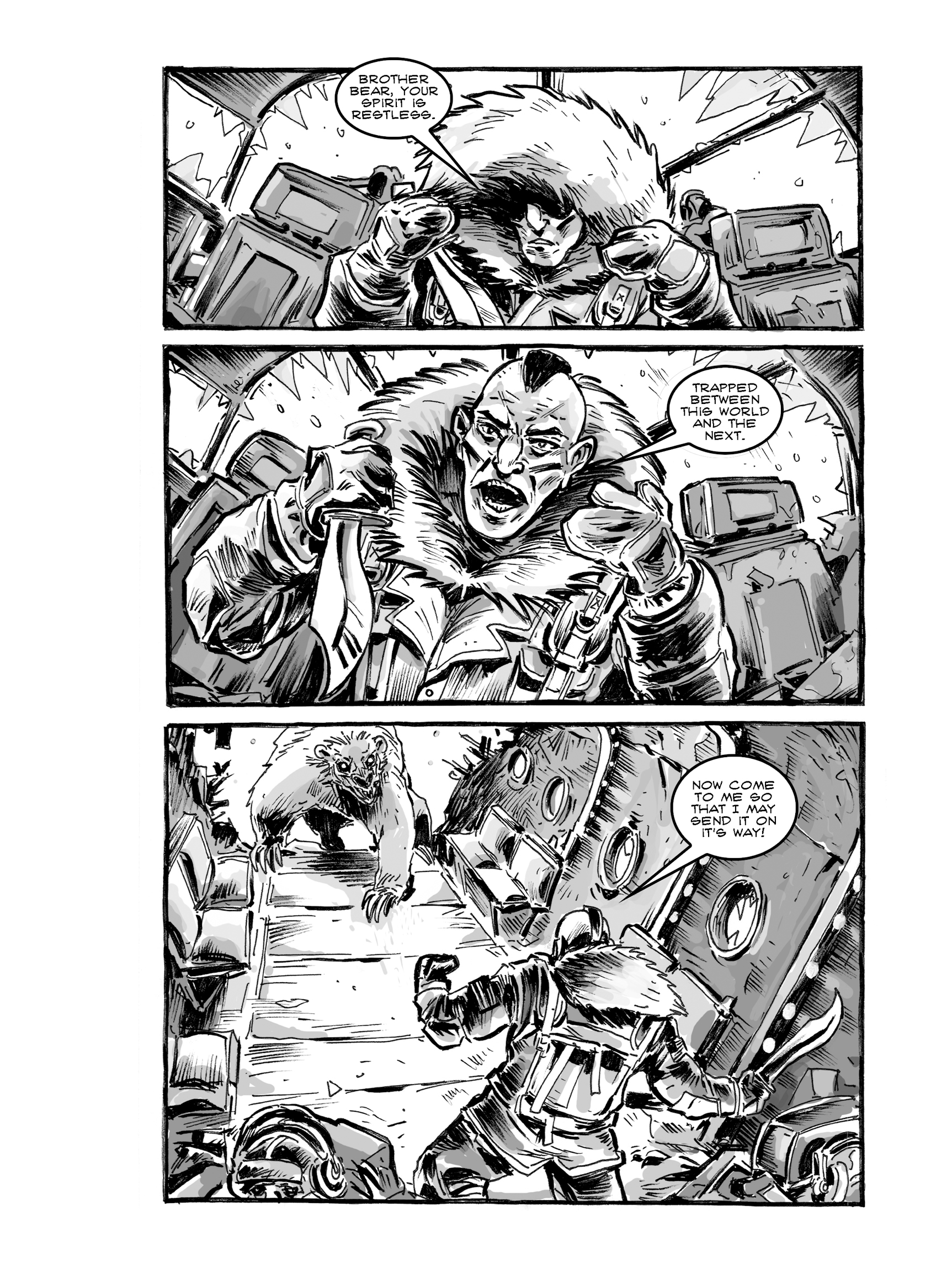 Read online FUBAR comic -  Issue #2 - 150