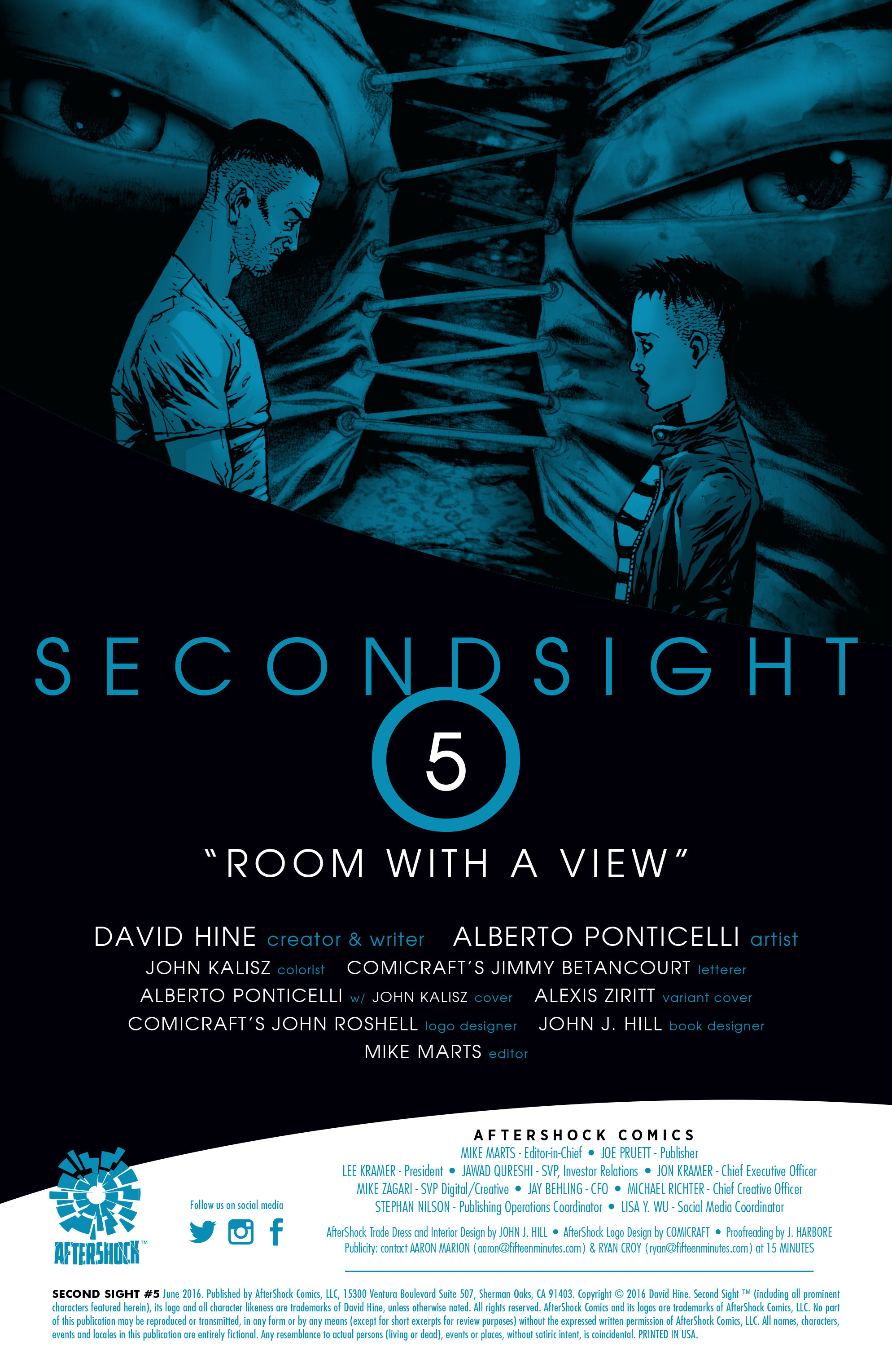 Read online Second Sight comic -  Issue #5 - 2