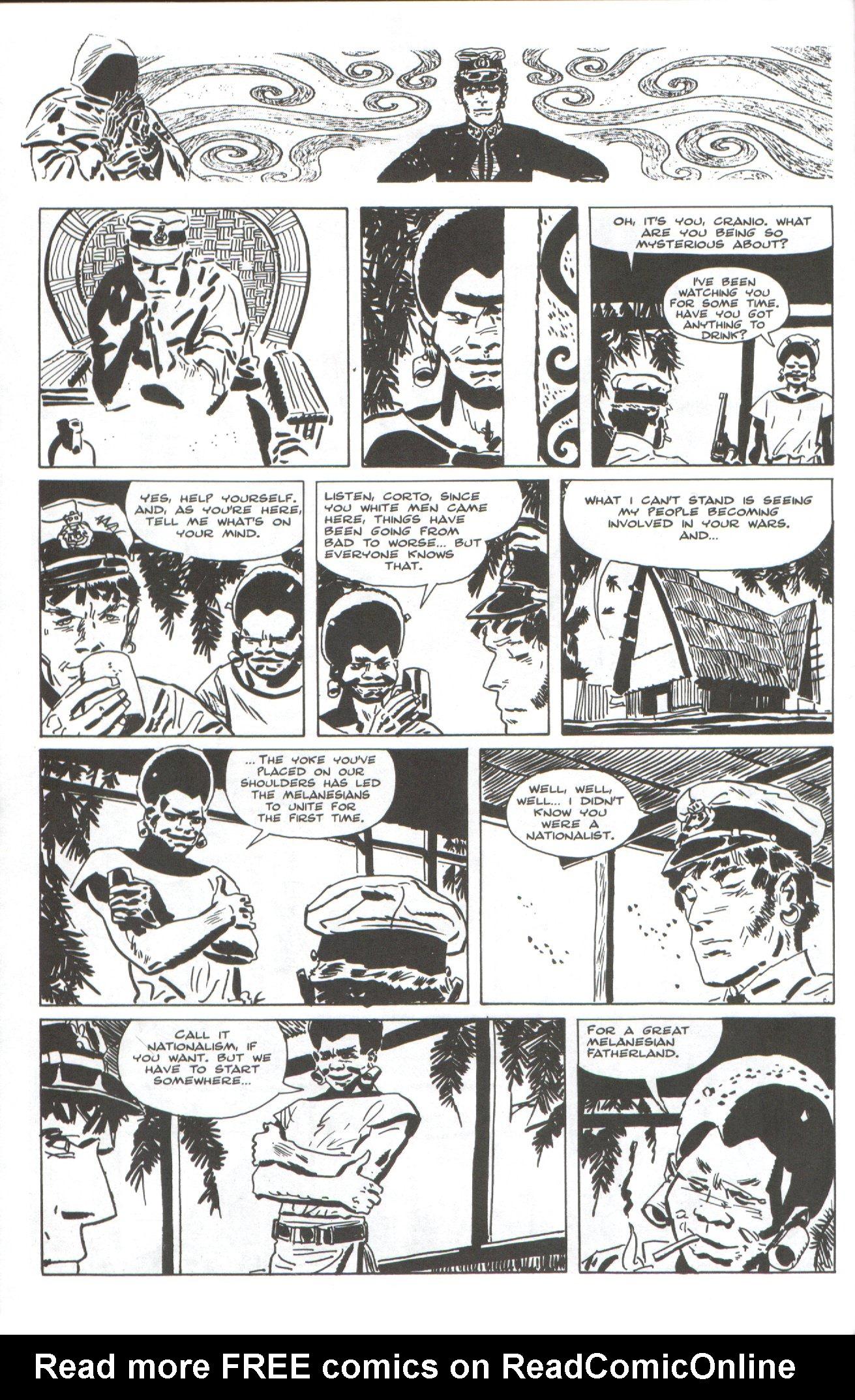 Read online Corto Maltese: Ballad of the Salt Sea comic -  Issue #4 - 8