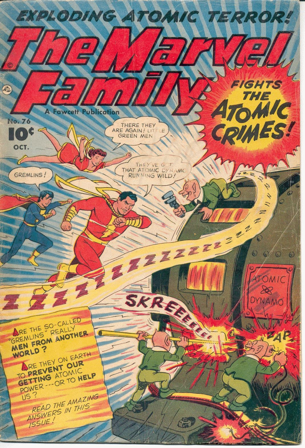 The Marvel Family 76 Page 1
