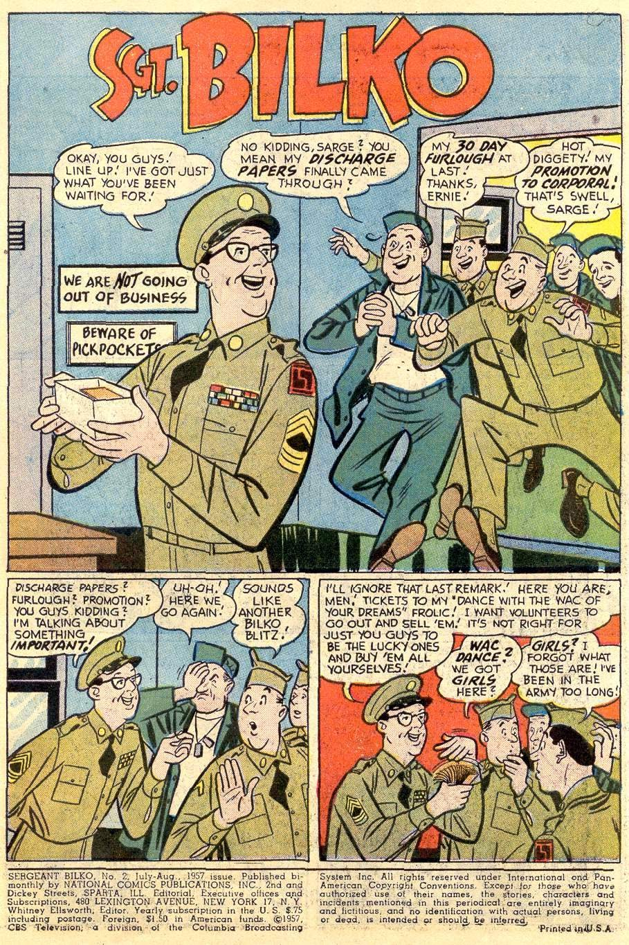 Sergeant Bilko issue 2 - Page 3