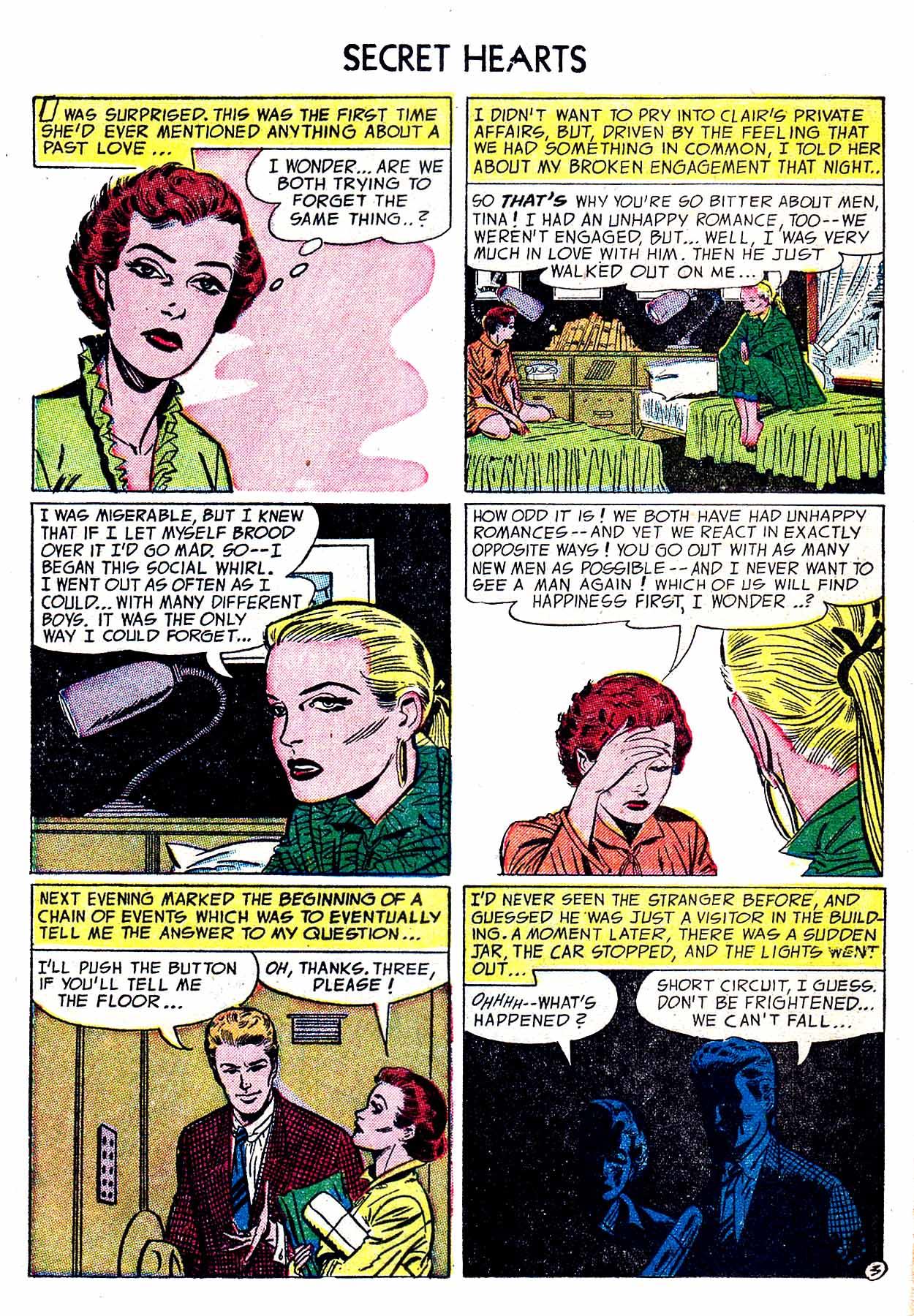 Read online Secret Hearts comic -  Issue #19 - 13