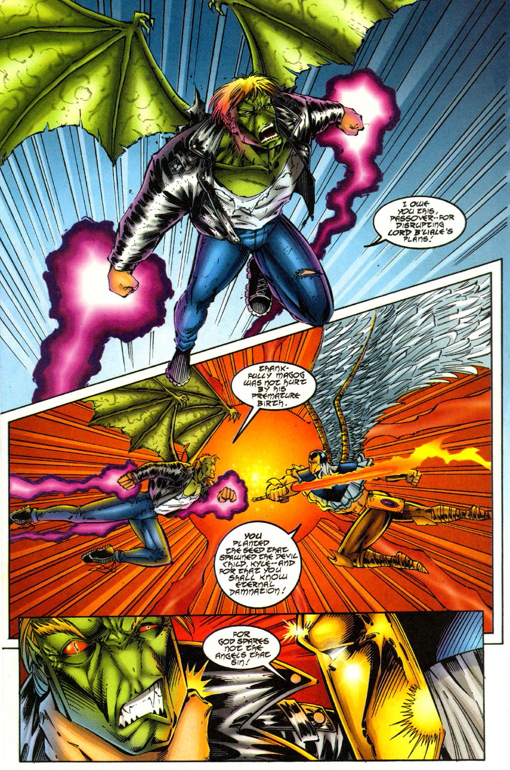 Read online Avengelyne (1996) comic -  Issue #3 - 11