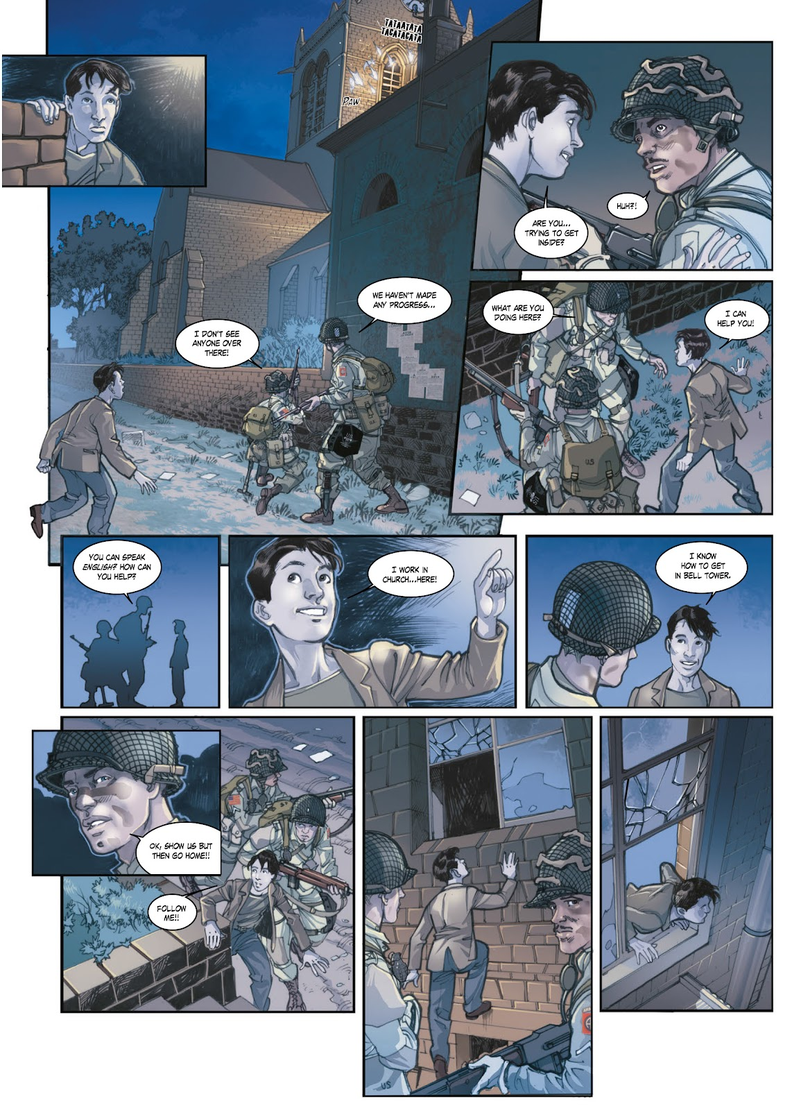 Read online Opération Overlord comic -  Issue #1 - 42