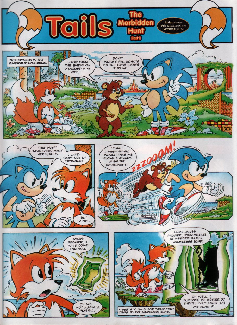 Read online Sonic the Comic comic -  Issue #28 - 19