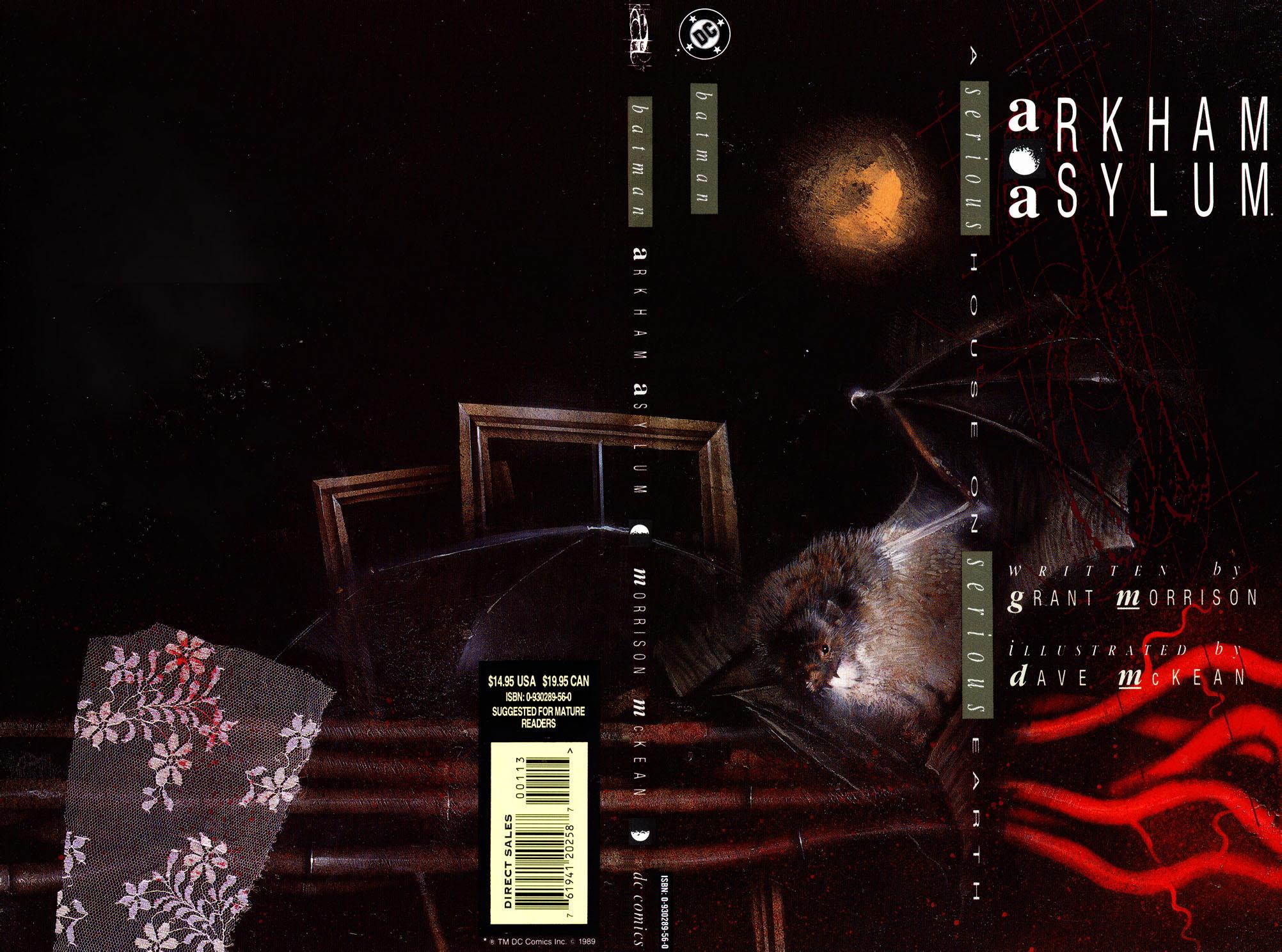 Batman: Arkham Asylum (1989) Full Page 1
