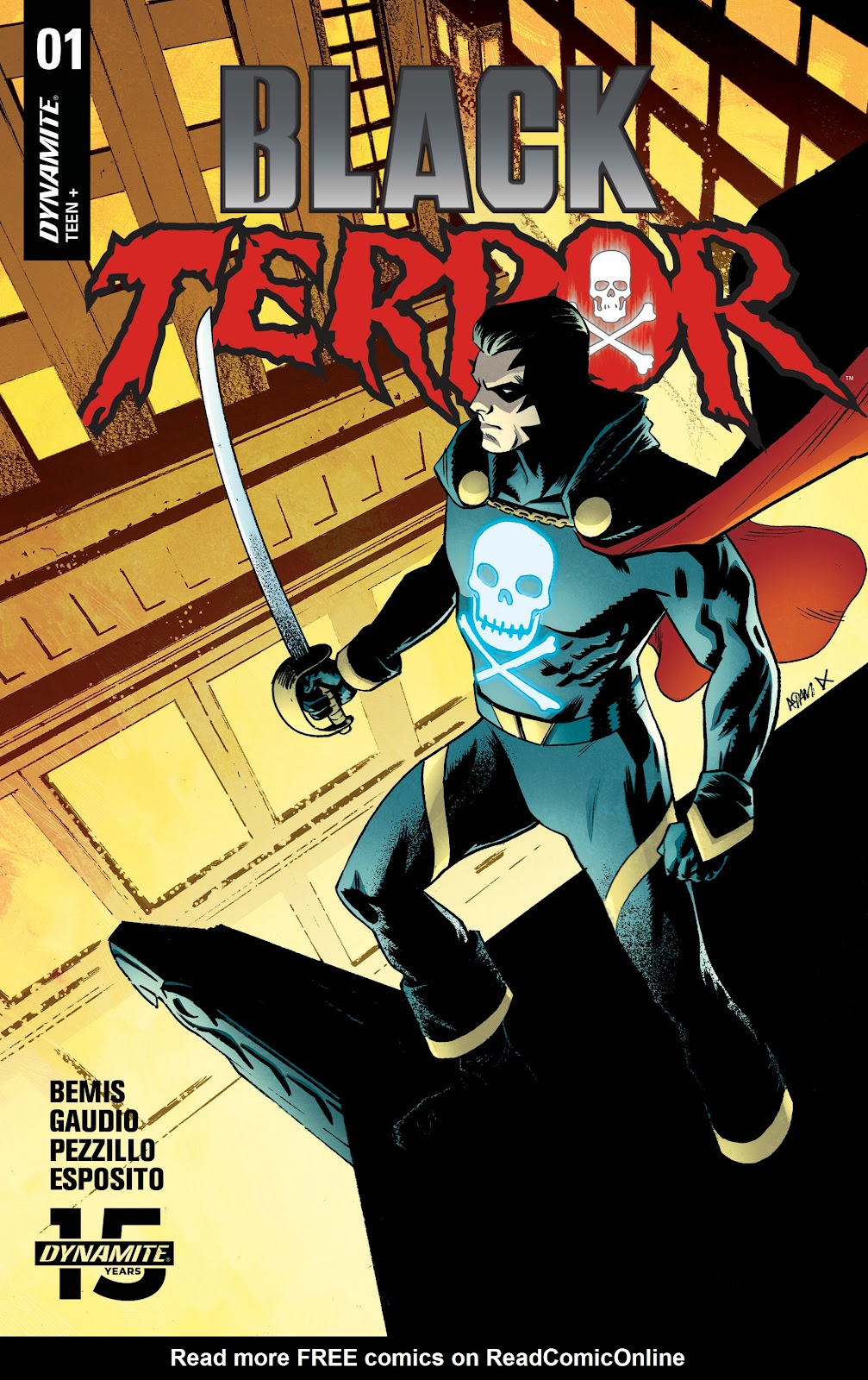 Read online Black Terror (2019) comic -  Issue # Full - 5