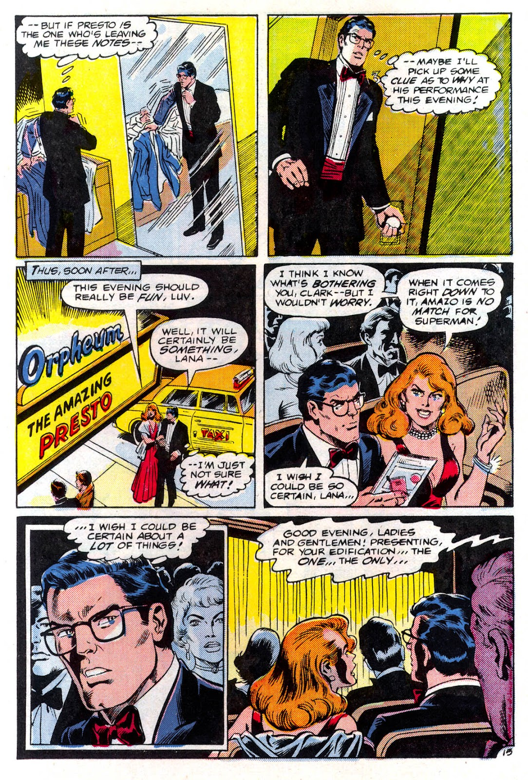Read online Superman Special (1983) comic -  Issue #3 - 16