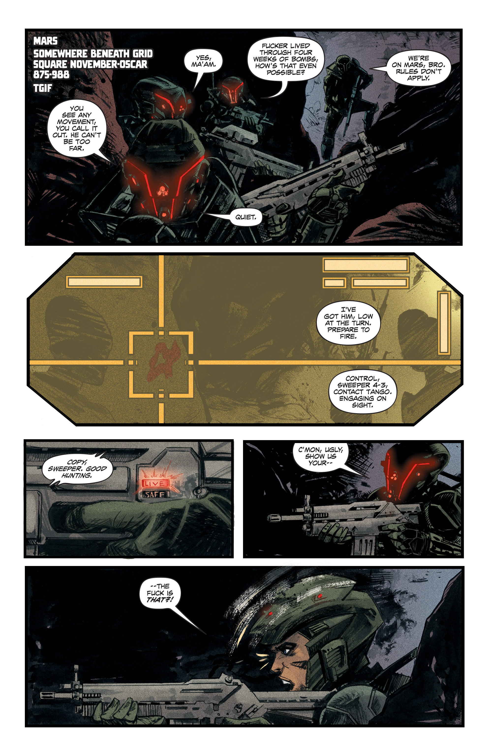 Read online Redline comic -  Issue #3 - 3