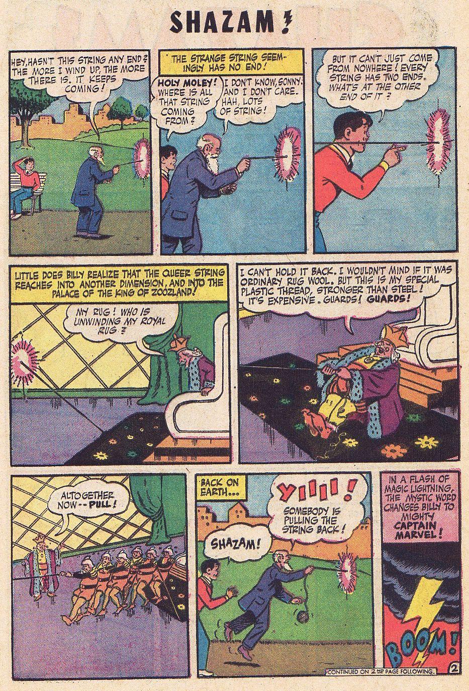 Read online Shazam! (1973) comic -  Issue #1 - 20