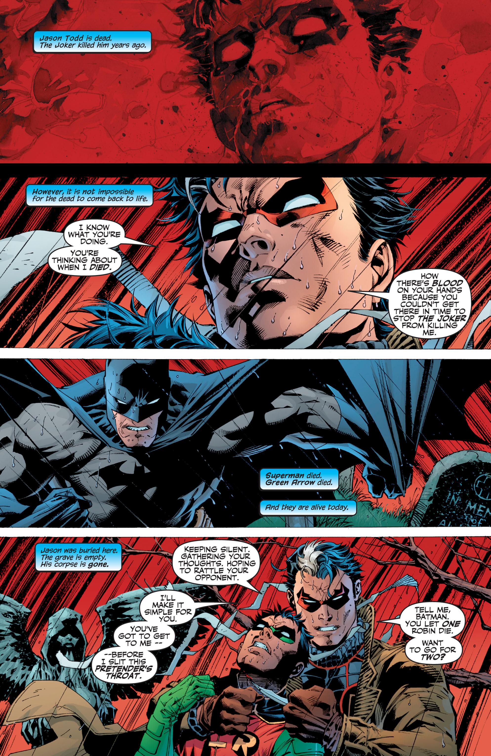 Read online Batman: Under The Red Hood comic -  Issue # Full - 363