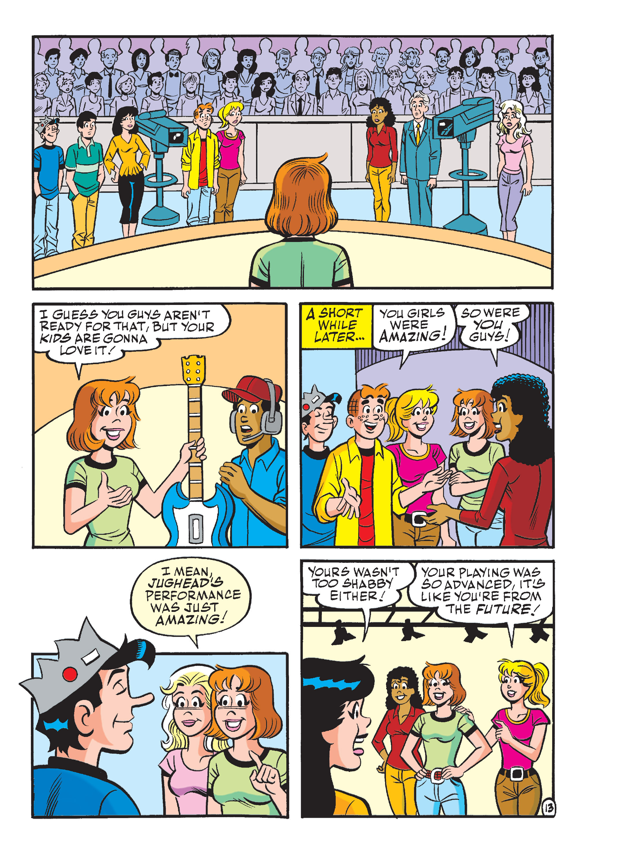 Read online Archie's Funhouse Double Digest comic -  Issue #13 - 48