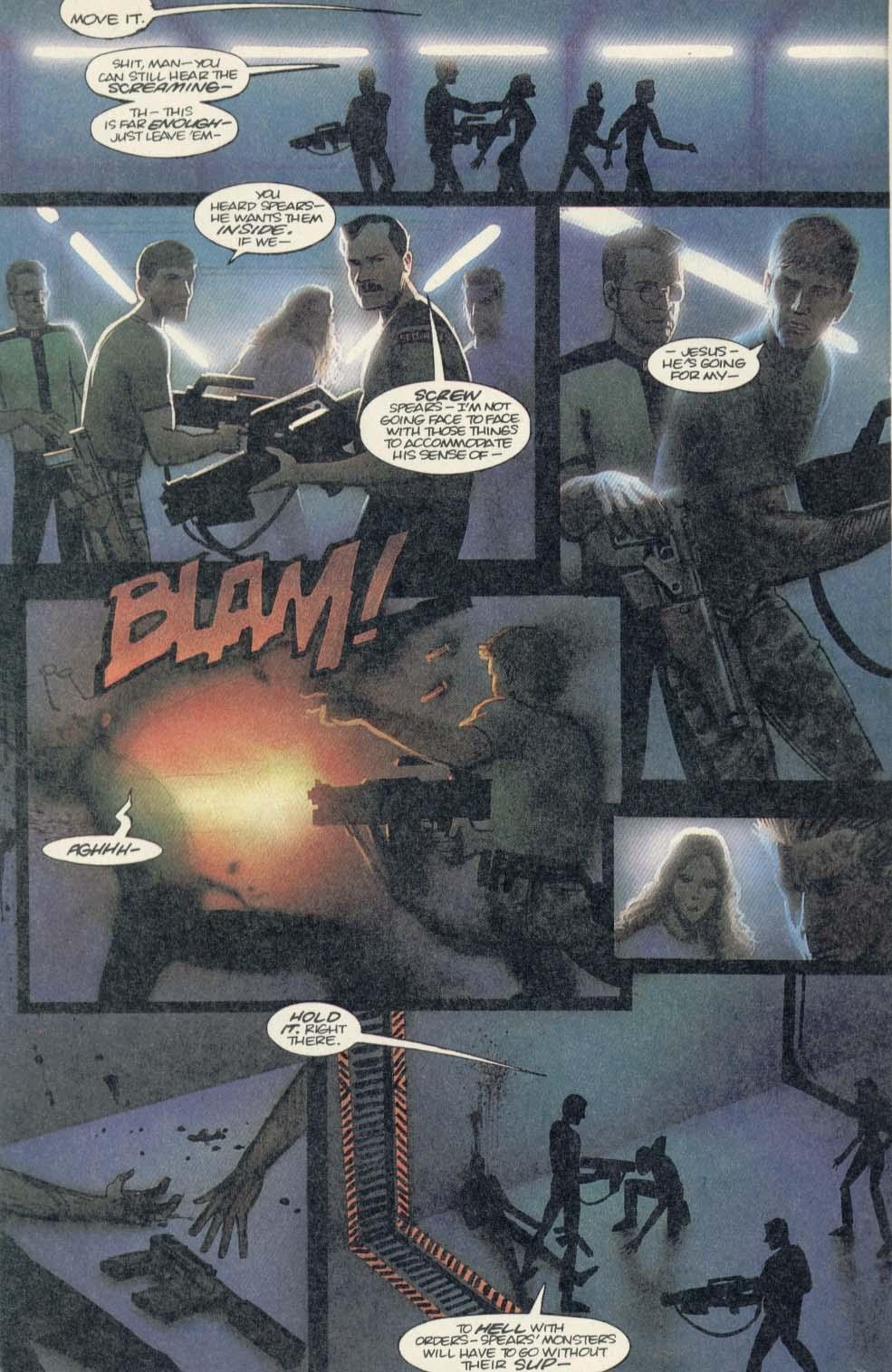 Read online Aliens (1989) comic -  Issue #4 - 8