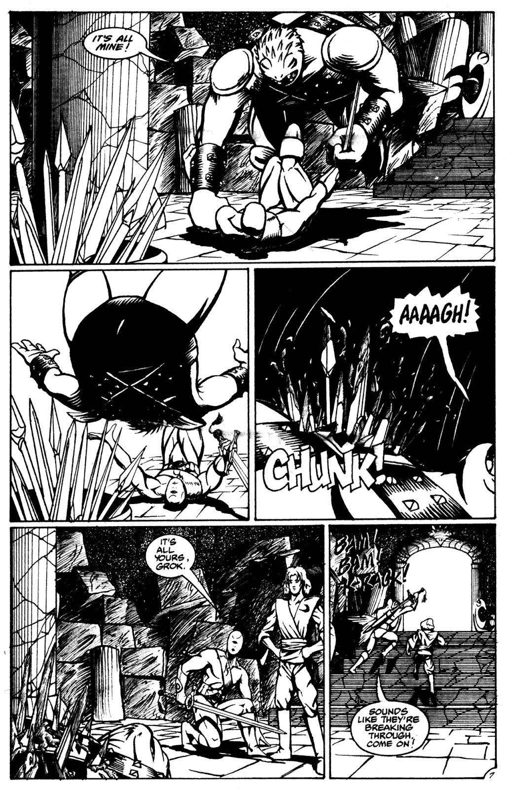 Shattered Earth issue 2 - Page 18